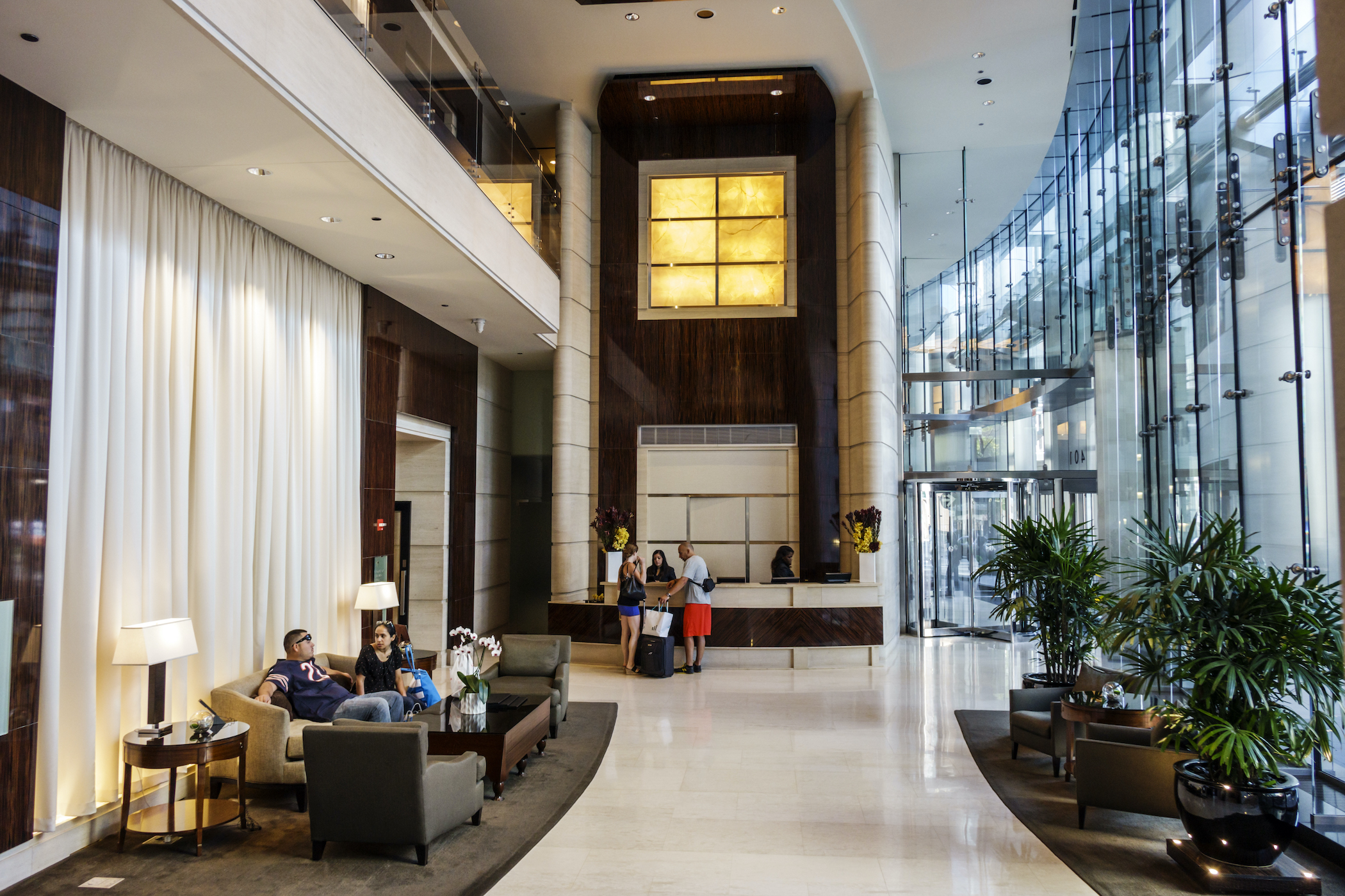 The U.S. hotel industry's recovery from the pandemic is seen as taking longer than originally expected. (Getty Images)