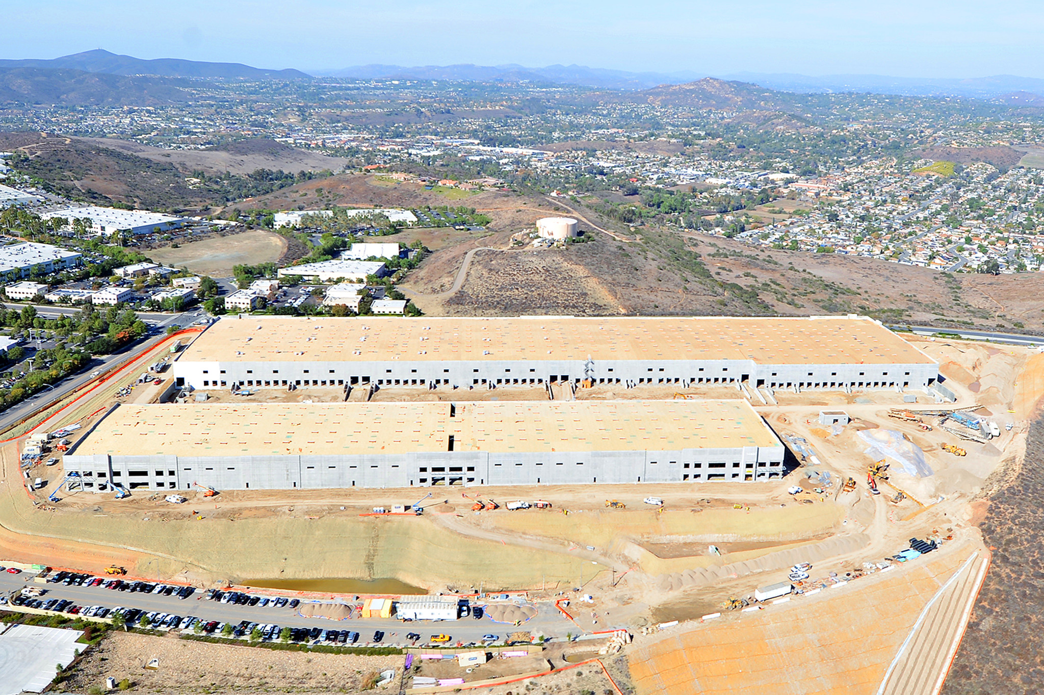 Vantage Point in Poway is the largest speculative project underway in San Diego with more than 530,000 square feet. (CoStar)