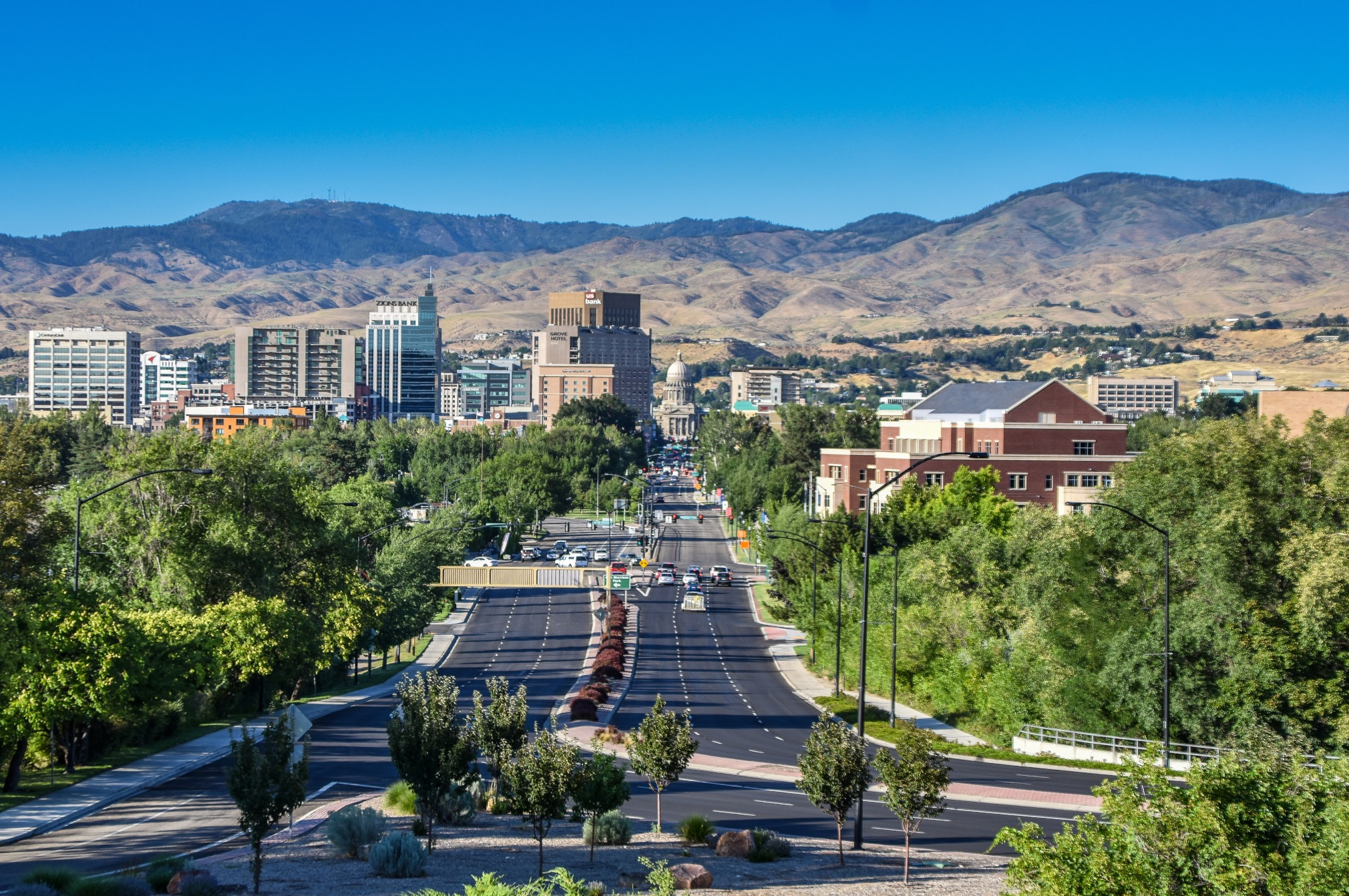 Idaho was the only state to outperform its 10-year annual growth rate average by more than 50 basis points. (Getty Images)