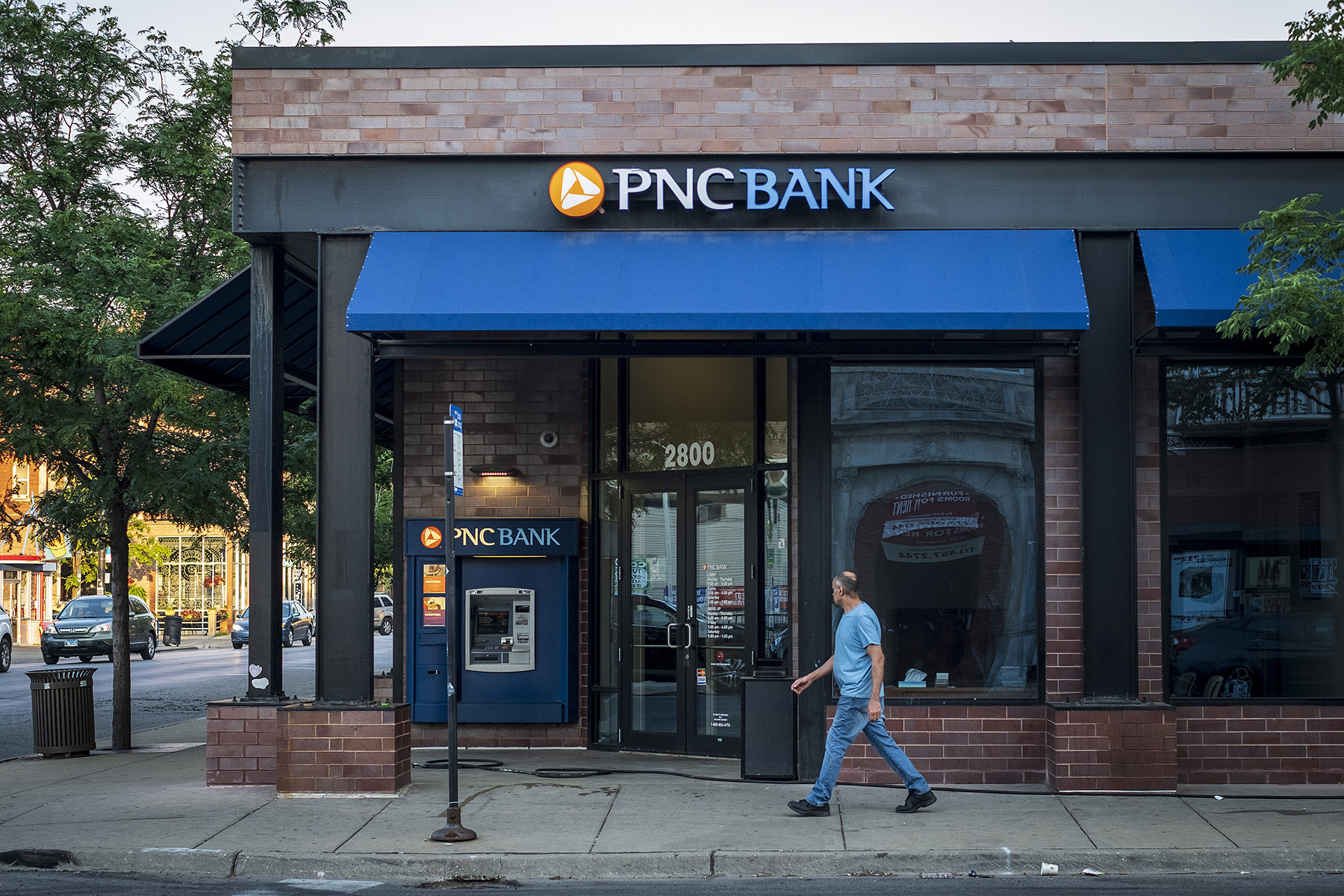 PNC Bank has closed or applied for 196 branch closings with bank regulators this year. (Getty Images)