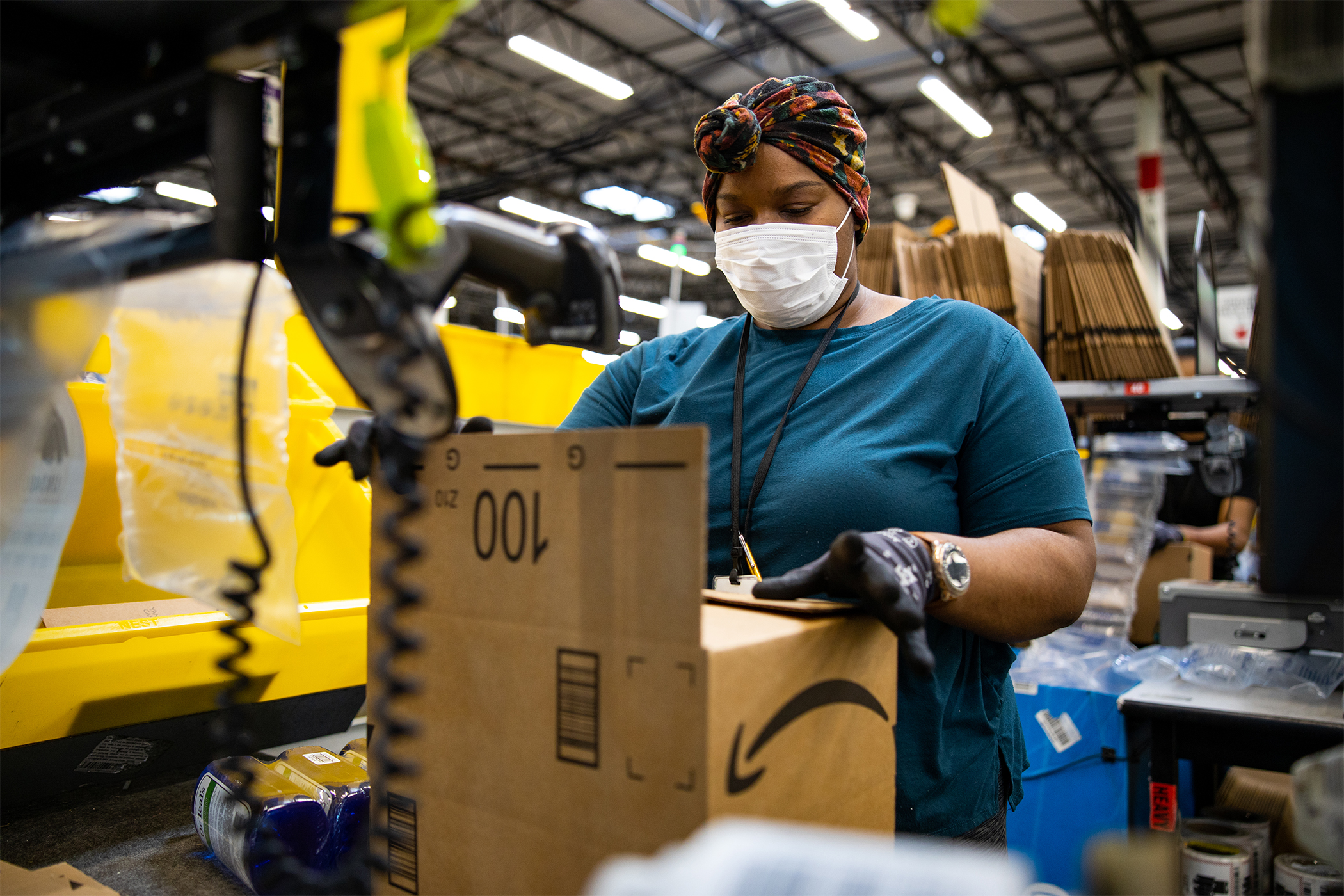 E-commerce juggernaut Amazon is a big player in New Jersey?s industrial market, but some question if it will always drive so much demand in that sector. (Amazon)