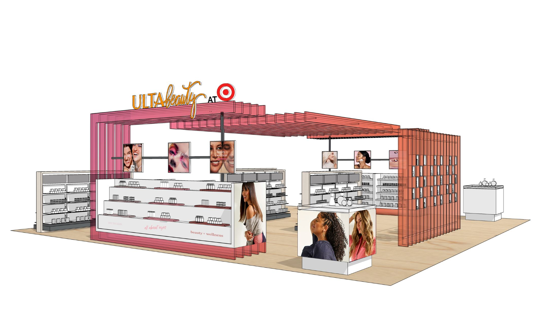 Ulta Beauty plans to open shops in 100 Target stores at the beginning of 2021. (Ulta Beauty)