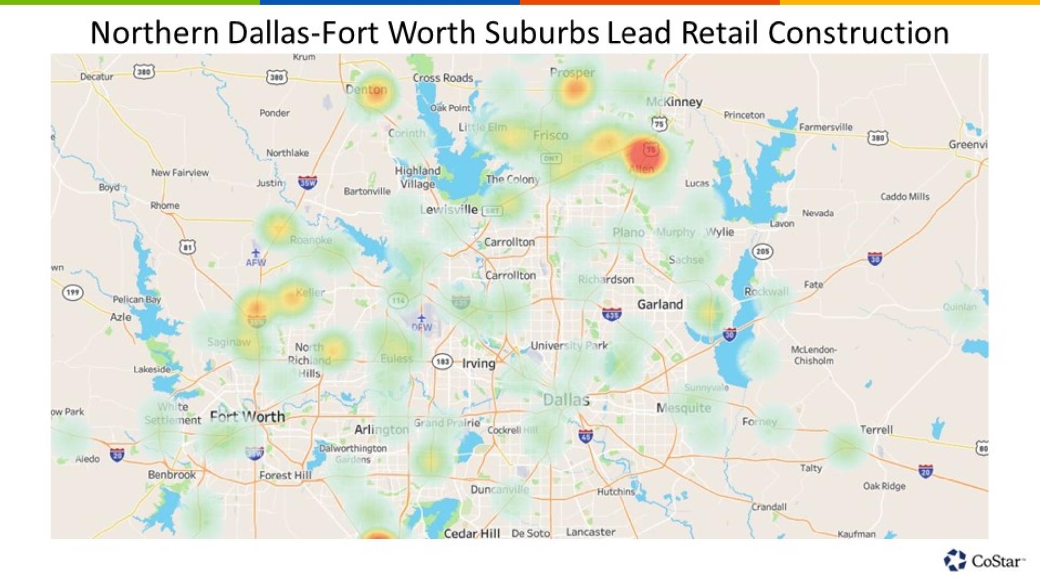 Retail Construction Dominates Dallas-Fort Worth\'s Northern ...