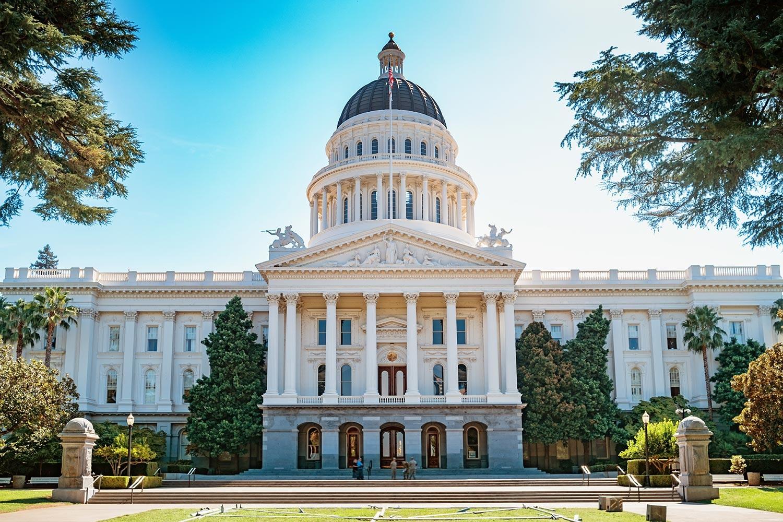 California State Capitol. Photo: iStock