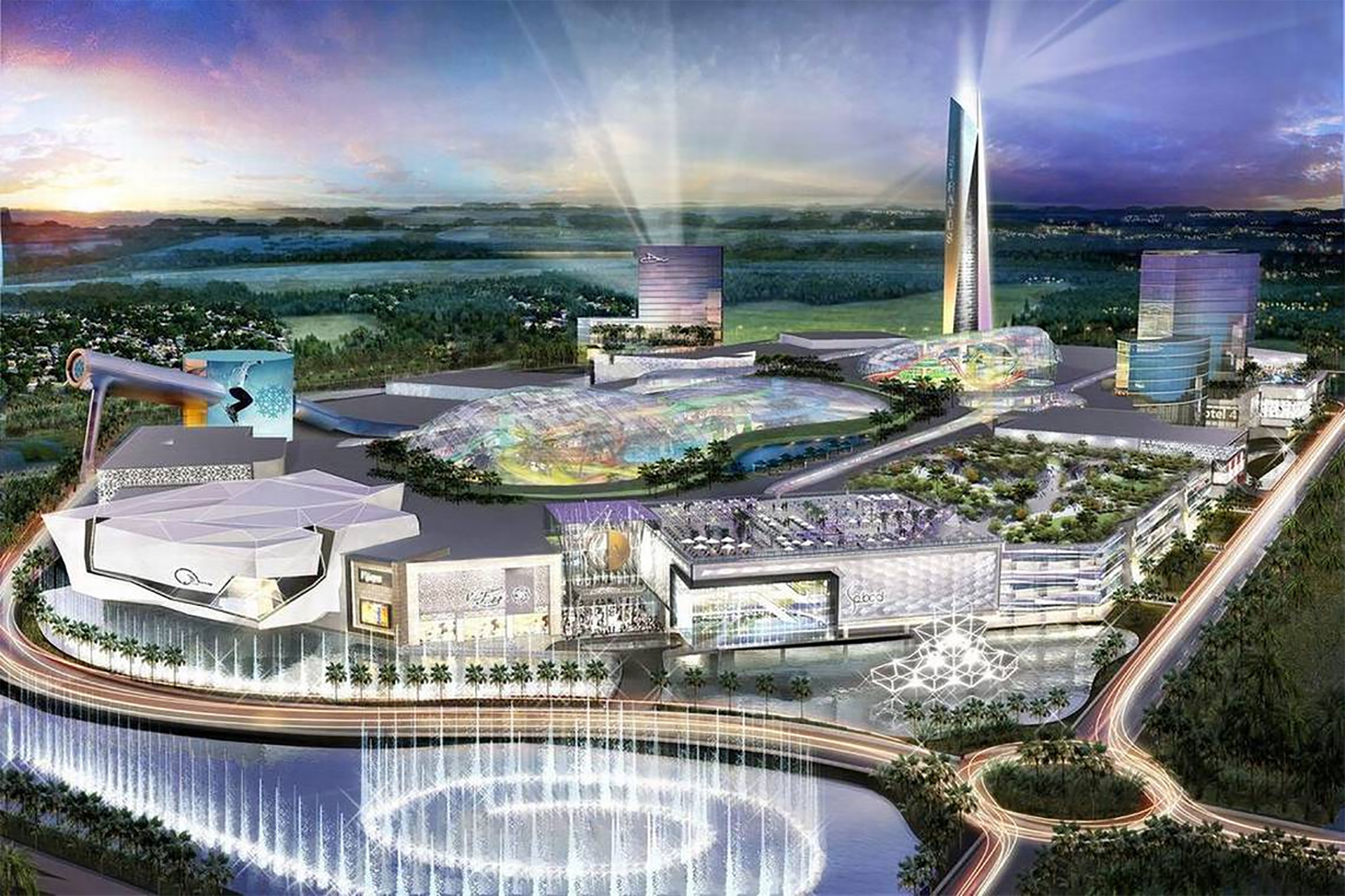 American Dream Miami is expected to draw 30 million visitors annually once it opens in 2025. (Triple Five Worldwide)