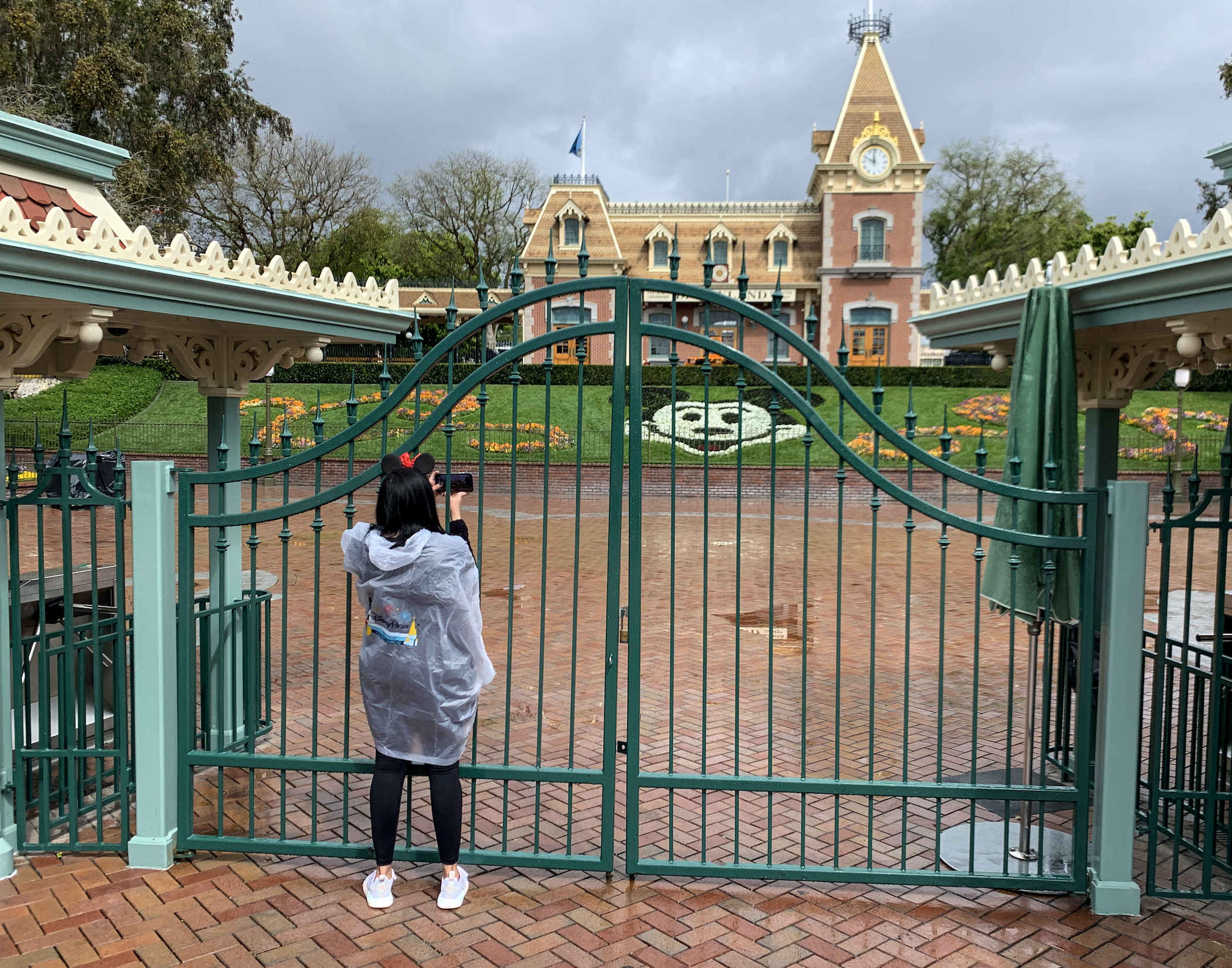 Disneyland closed in March as the coronavirus pandemic took hold in the United States and local governments issued lockdowns. (Getty Images)