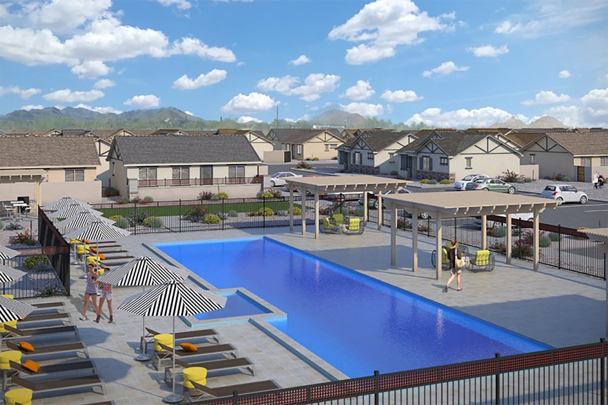 Empire Group is building a project similar to Village at Camelback Park called Village at Pebble Creek in Goodyear. (Empire Group of Companies)