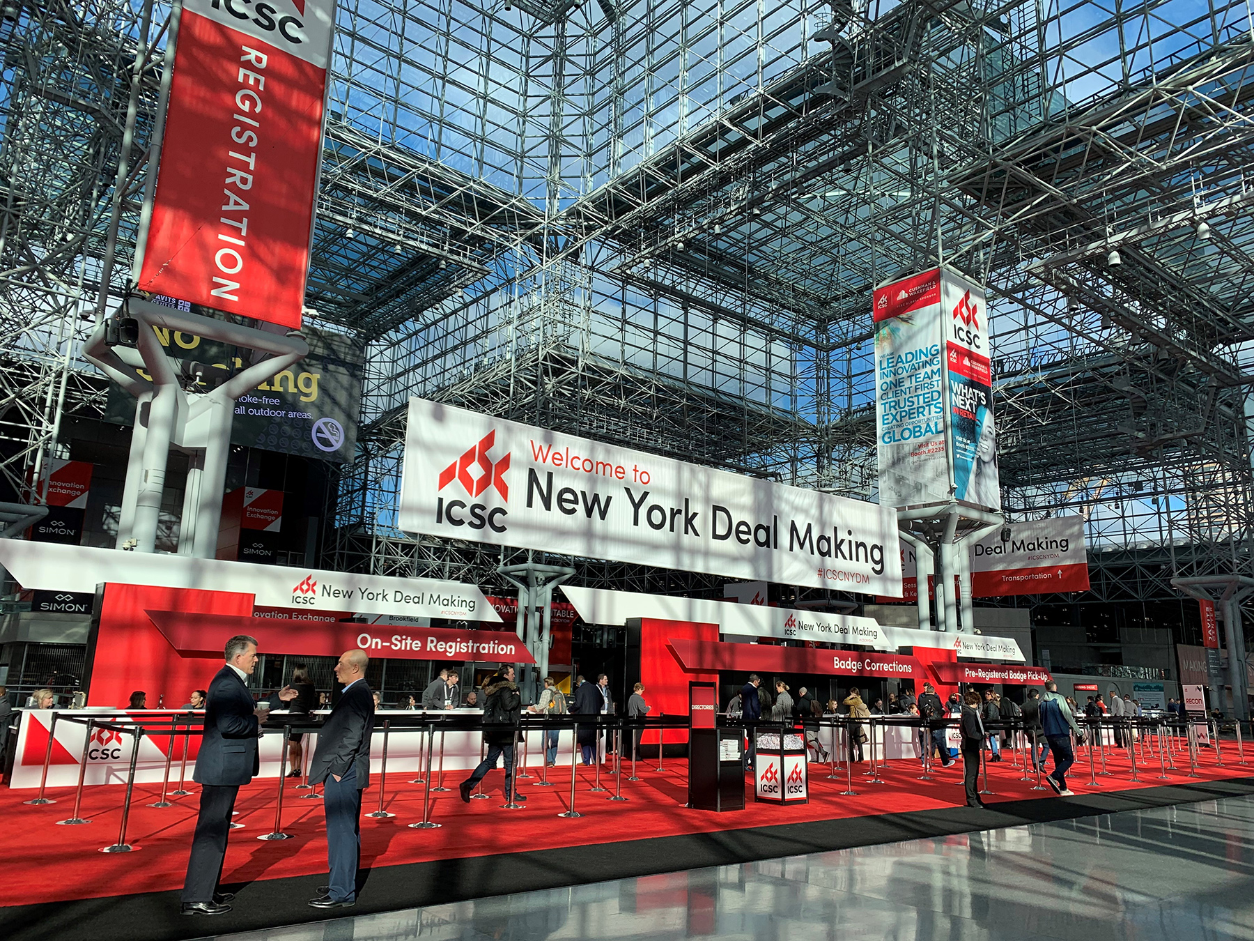 The International Council of Shopping Center's annual New York Deal Making conference kicks off Tuesday. (ICSC)