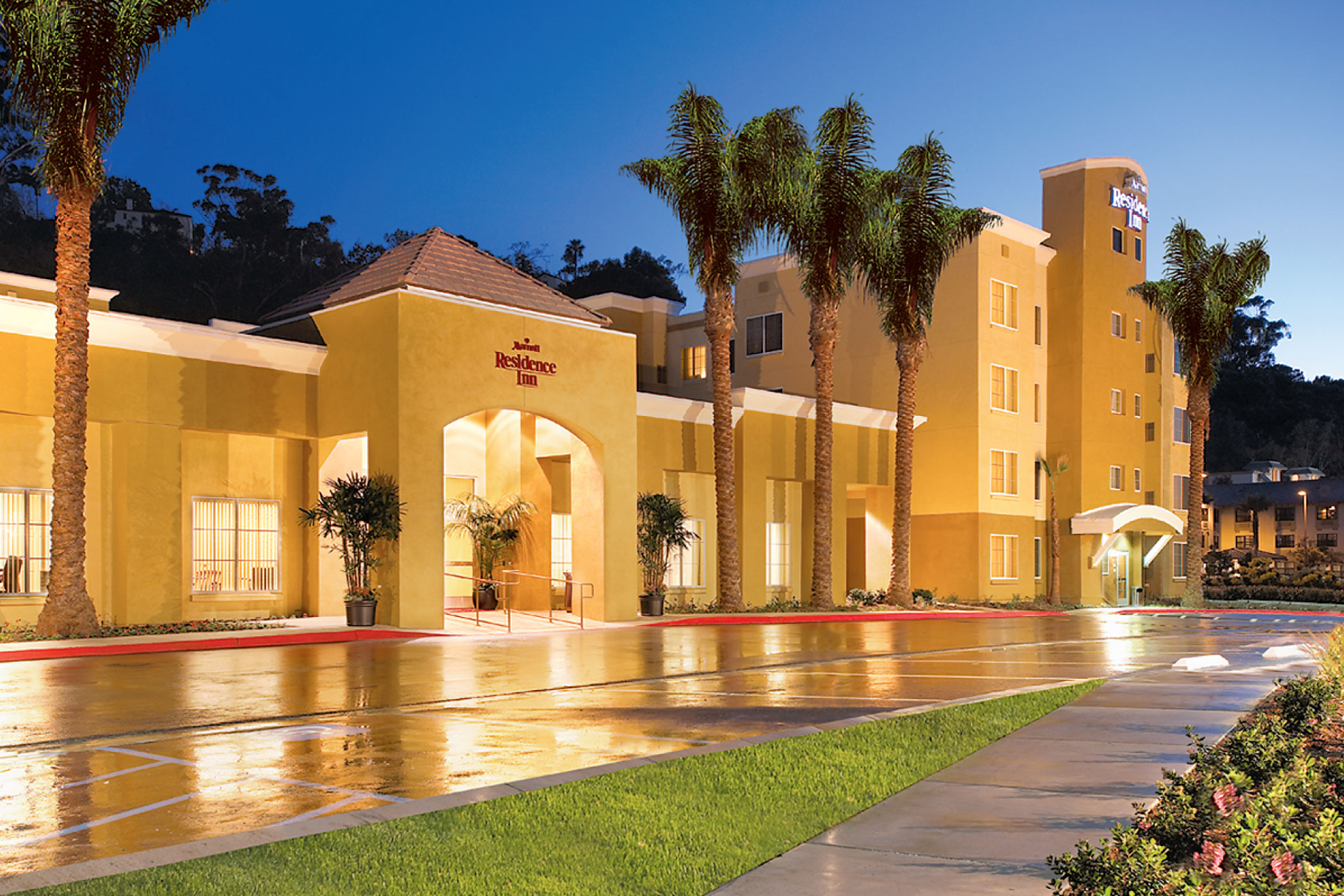 Chatham Lodging Trust sold the 192-room Residence Inn By Marriott San Diego Mission Valley for $67 million in December 2020 to the San Diego Housing Commission, which intends to turn the property into permanent housing for the homeless. (Chatham Lodging Trust)