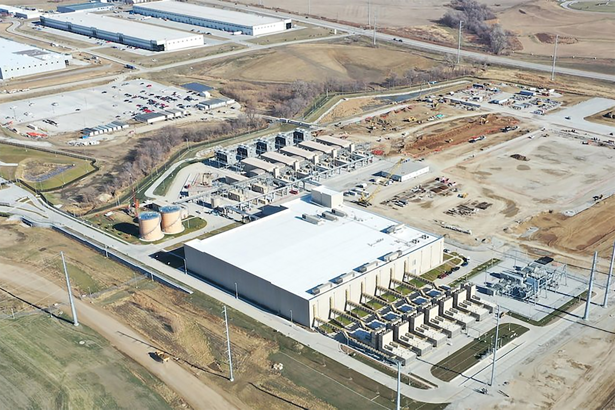 Google moved forward in Papillion, Nebraska, with a data center this year. (Google)