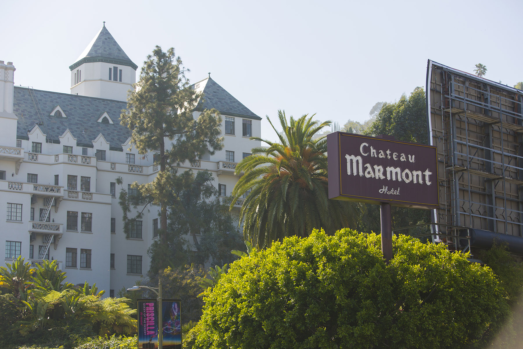 The owner of the Chateau Marmont luxury hotel in West Hollywood, California, is looking to convert it for private residential use, where guests could take ownership stakes. (Getty Images)
