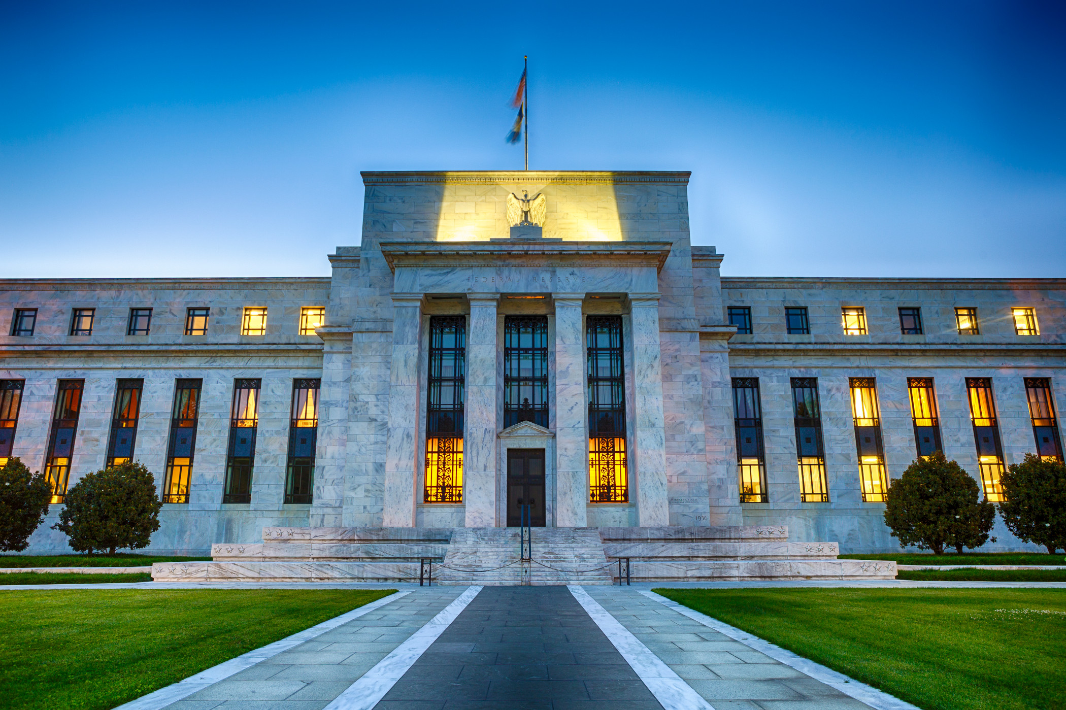 The Federal Reserve Building in downtown Washington D.C. (iStock)
