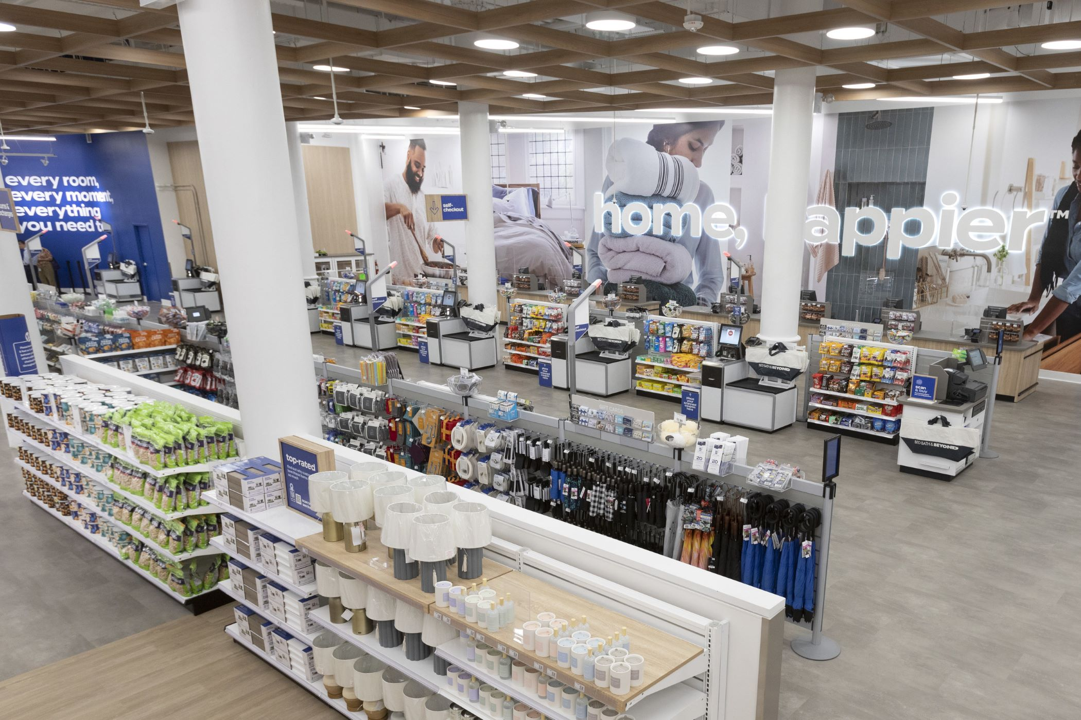 Bed Bath & Beyond reopened its New York flagship store with a new look to lure customers. (Bed Bath & Beyond)