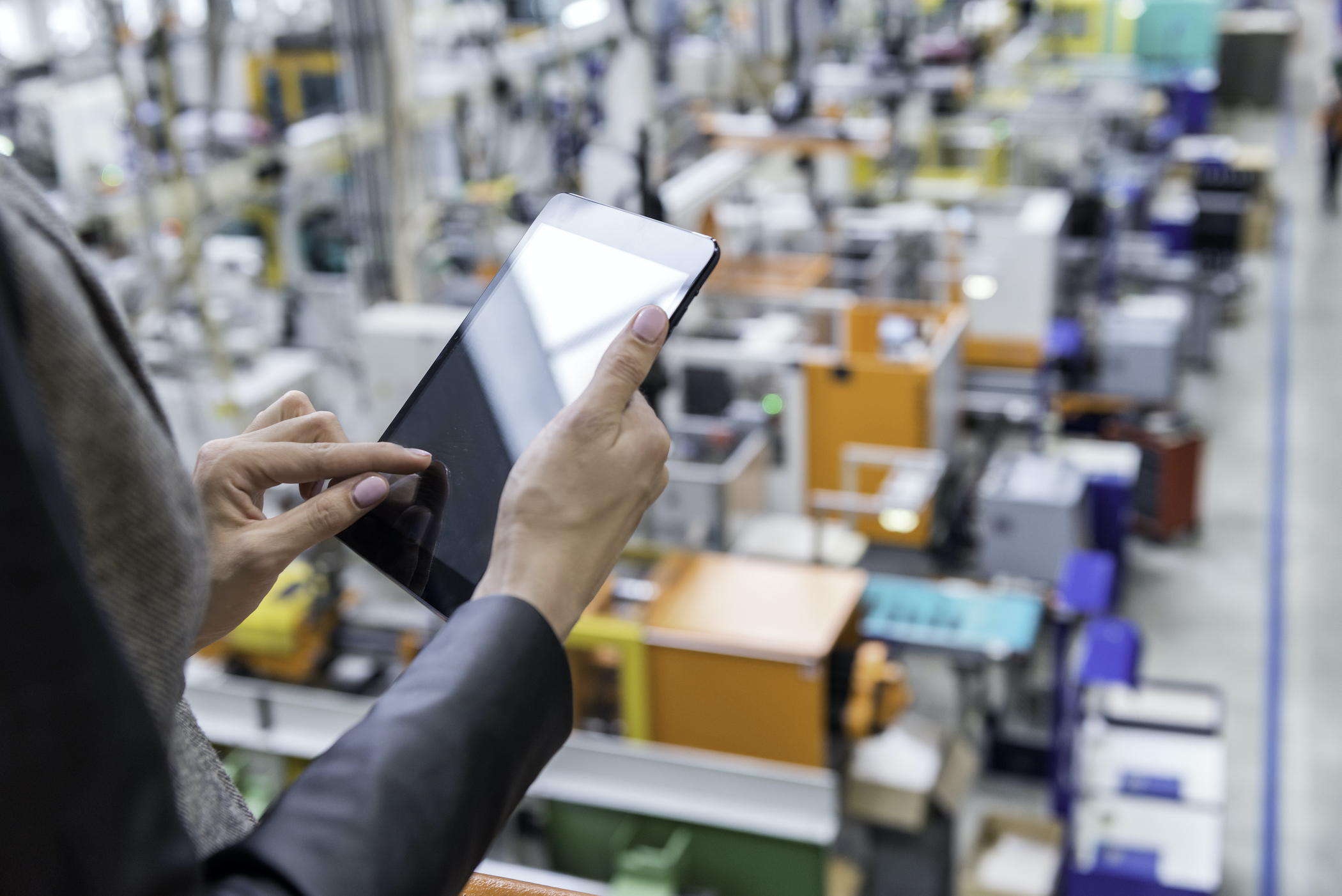Factory orders climbed for a third consecutive month. (Getty Images)