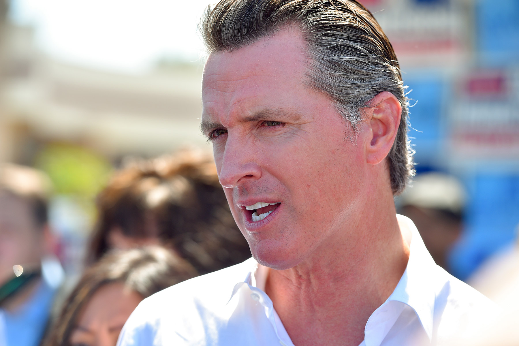 California Gov. Gavin Newsom has supported legislation aimed at controlling rent increases. (Getty Images)