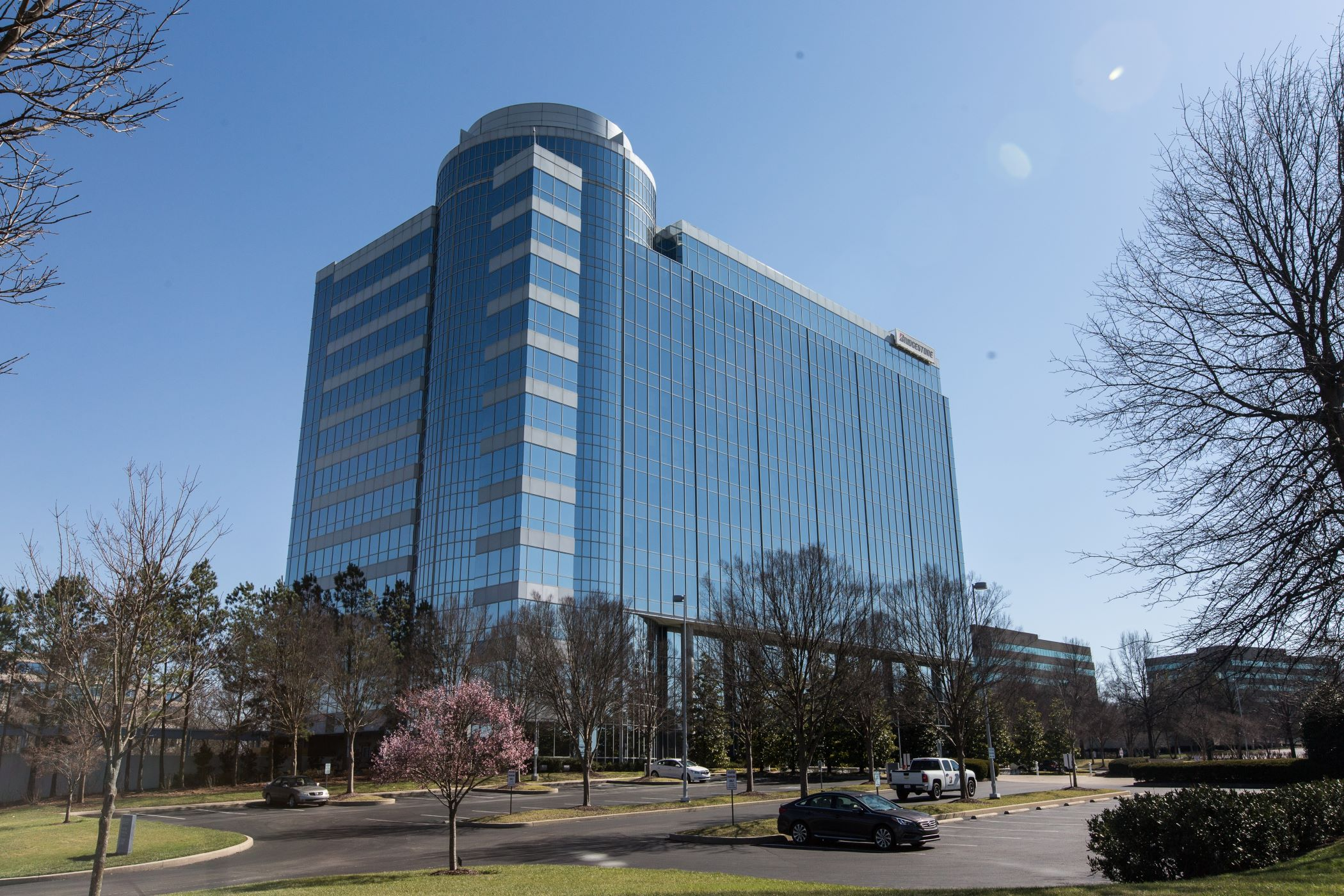 Highland Ridge Tower, one of two buildings a group bought and have a loan that exceeds the sale price. (CoStar)