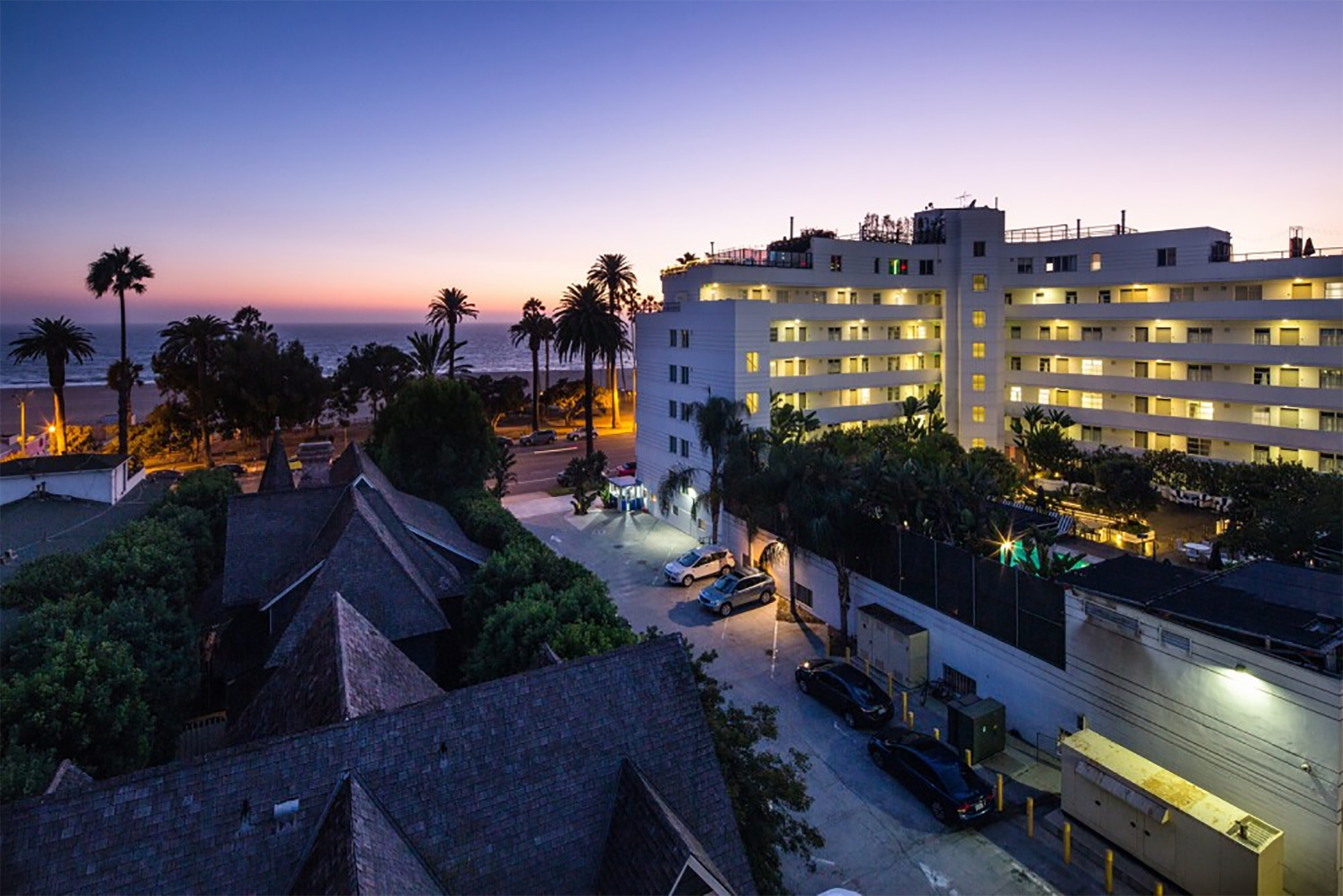 Apartments at the Chelsea Santa Monica in Santa Monica, California, rent for up to $10,000 per month. (CoStar)