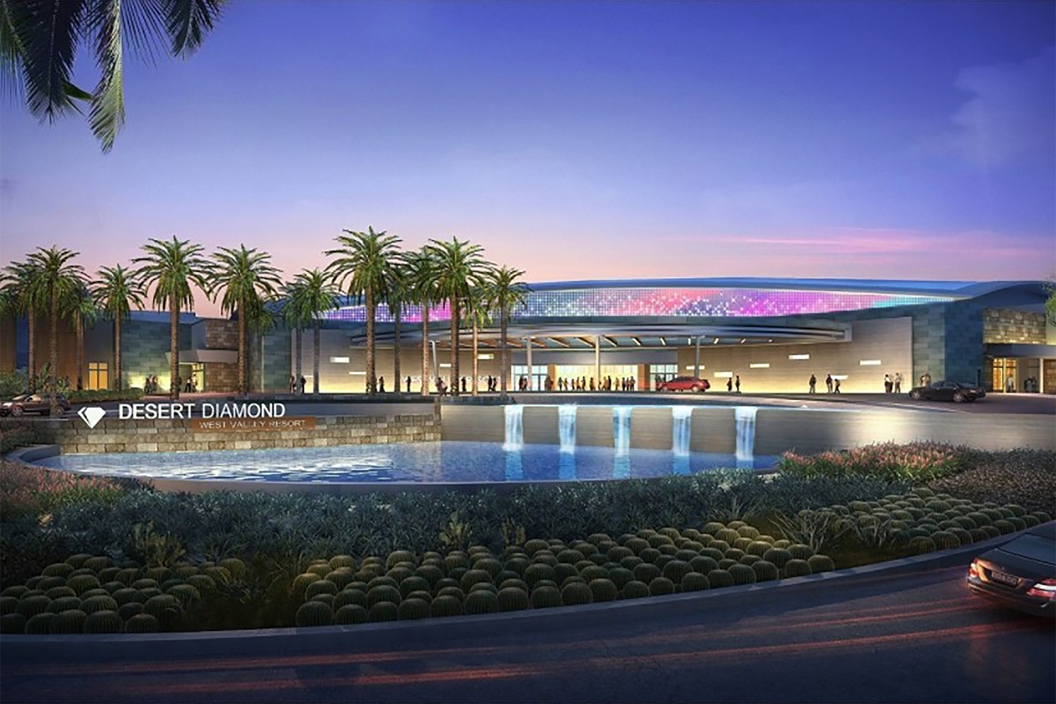The new Desert Diamond Casino in one of the West Valley's largest employers. (Courtesy of Tohono O'odham Gaming Enterprise)