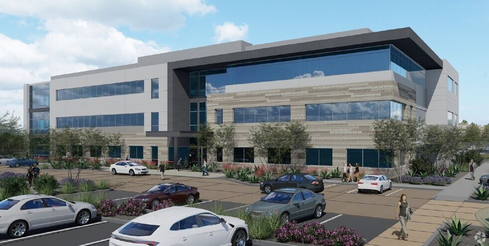 A rendering of the Chandler Medical Plaza. (CoStar)