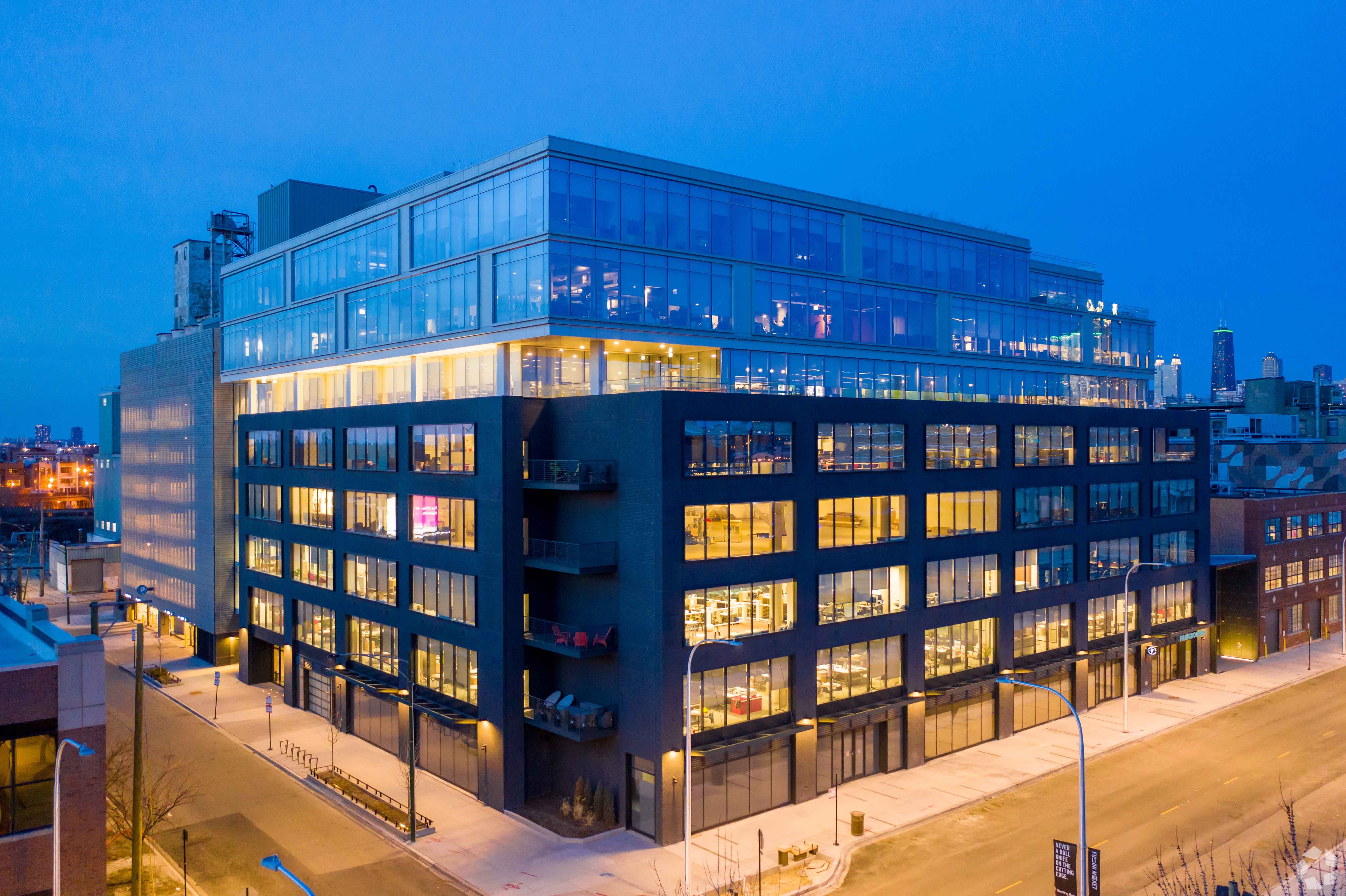 Commerz Real, whose most recent U.S. purchase was 1330 W. Fulton St. in Chicago, would like to expand its American office holdings. (CoStar)