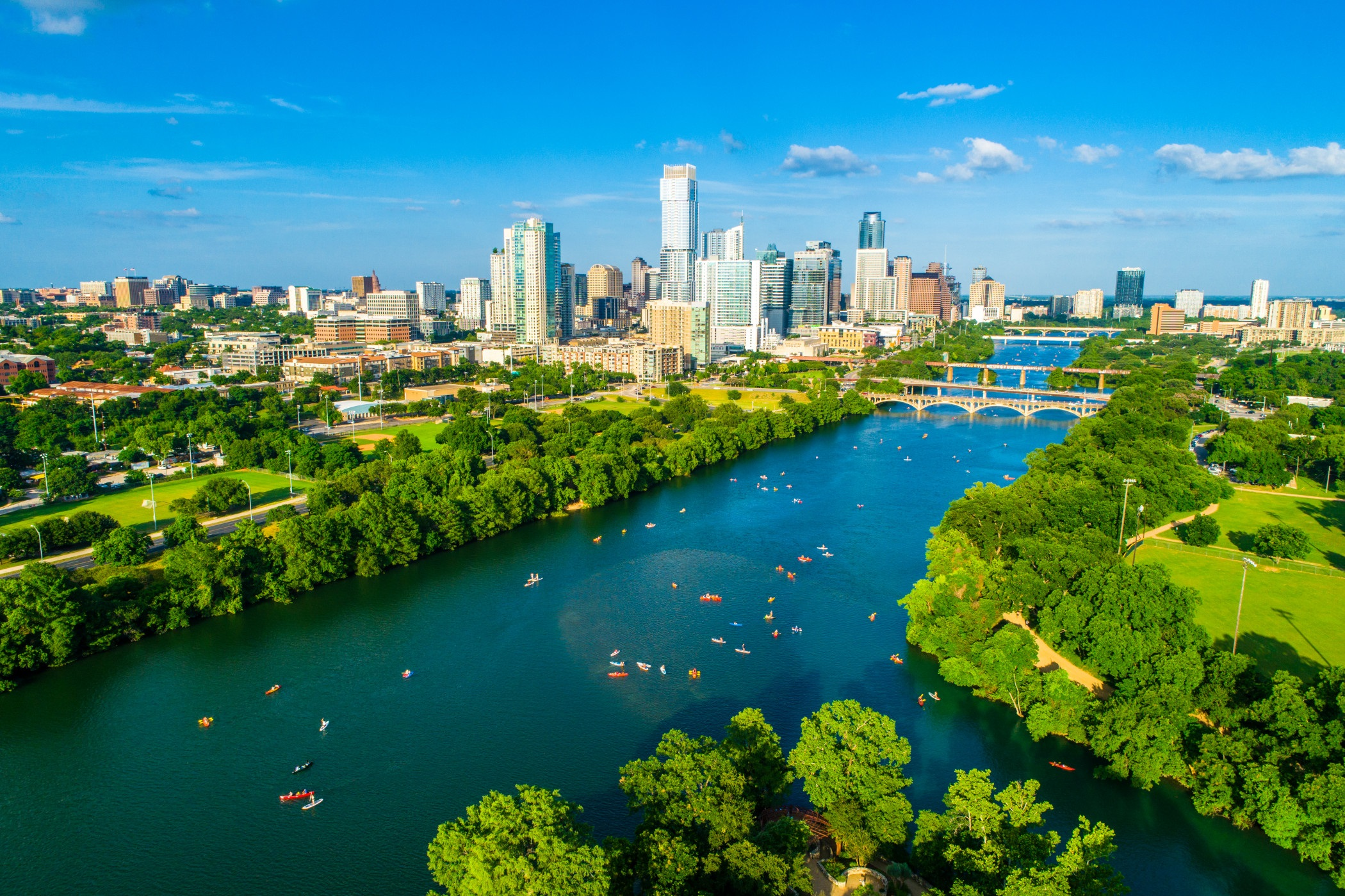 With apartment rents up more than 4% so far this year, Austin is one of the biggest comeback stories in the country. (Getty Images)