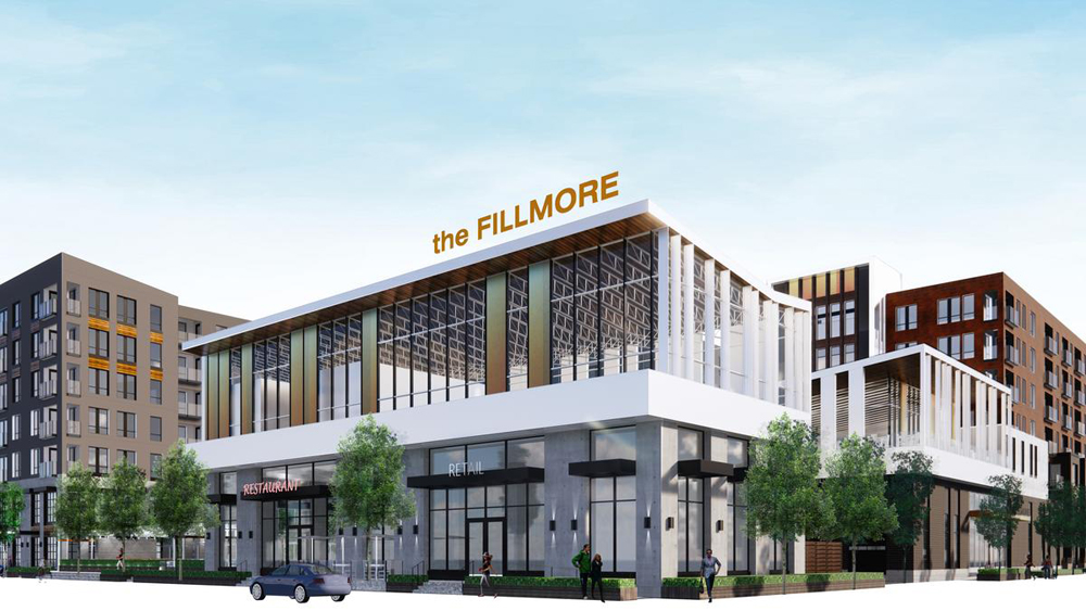 The Fillmore is scheduled to be finished by fall of 2021. (Trammell Crow)