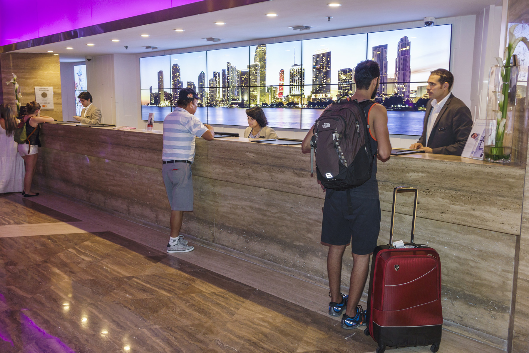 Leisure travelers are slowly filling hotel rooms again after anemic demand because of the coronavirus pandemic. (Getty Images)