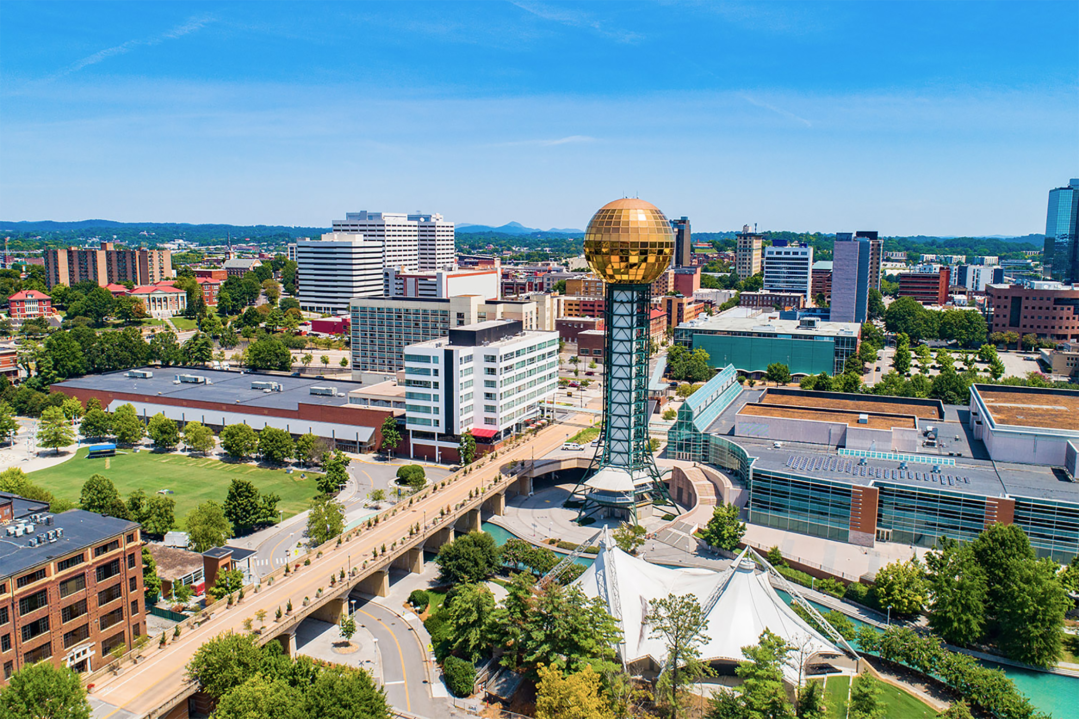 Knoxville, Tennessee, Rides Decadeslong Wave of Downtown Revival