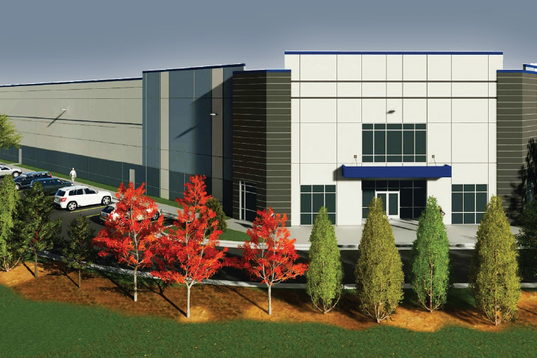 Transwestern Development built and leased a distribution center to Amazon at 6885 Commercial Drive in Springfield, Virginia. In June, it sold the property for $52.75 million. (Transwestern)