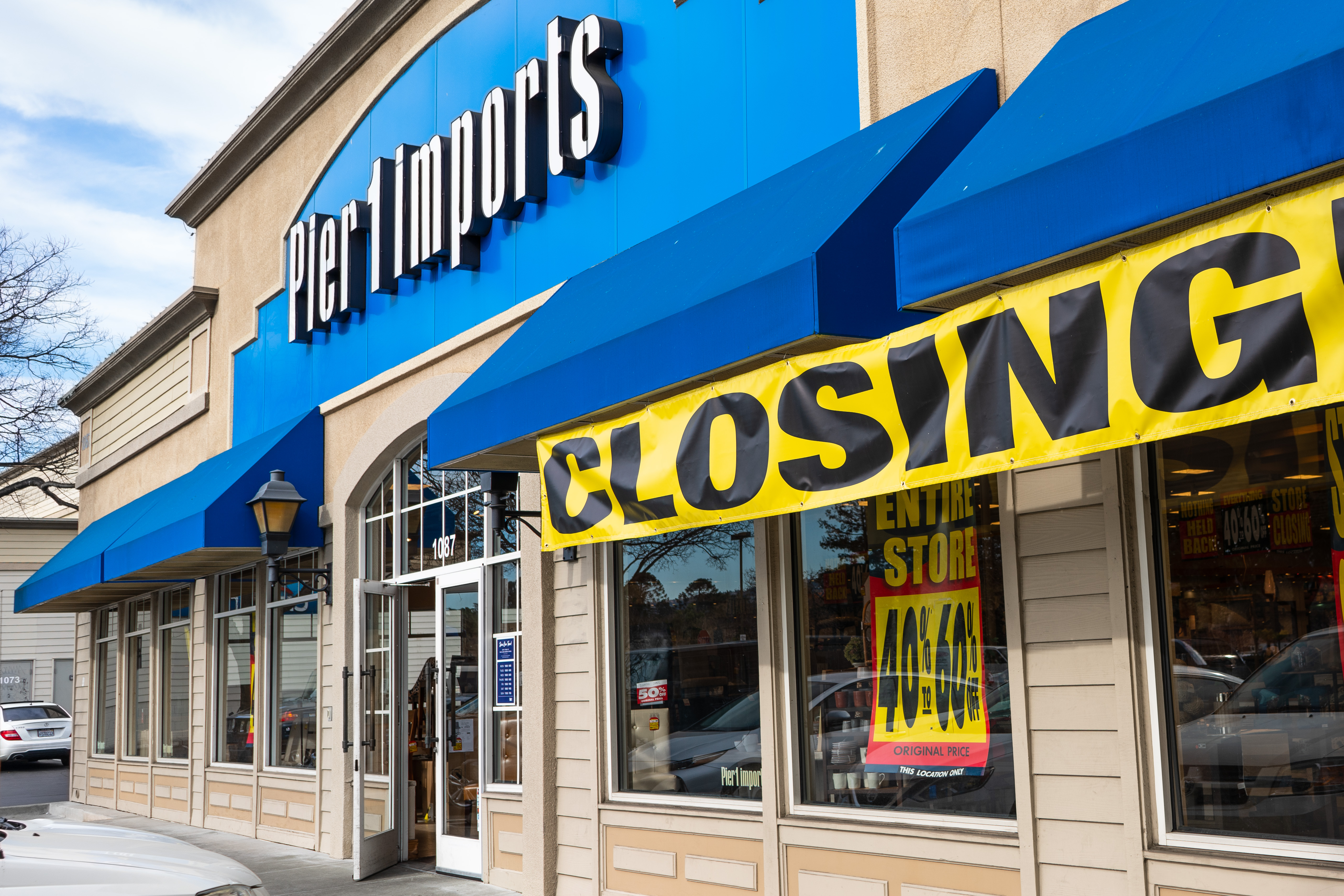 Pier 1 Imports plans to liquidate more than 900 closed stores throughout the United States and Canada. (Getty Images)