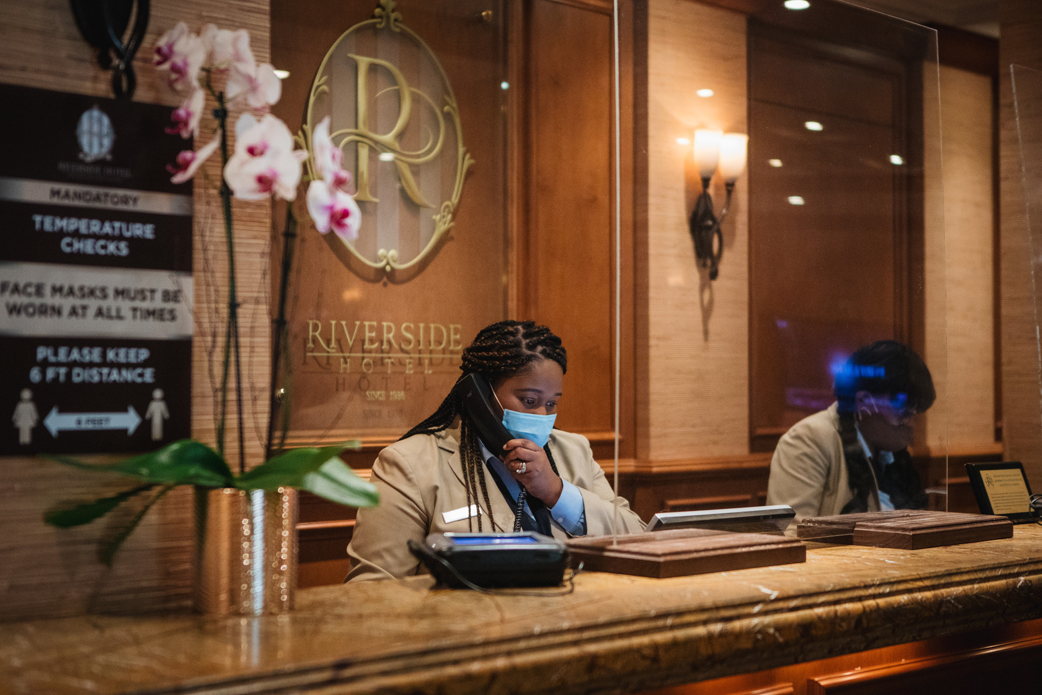 Hotel rates surge as summer leisure travel remains high. (Getty Images)