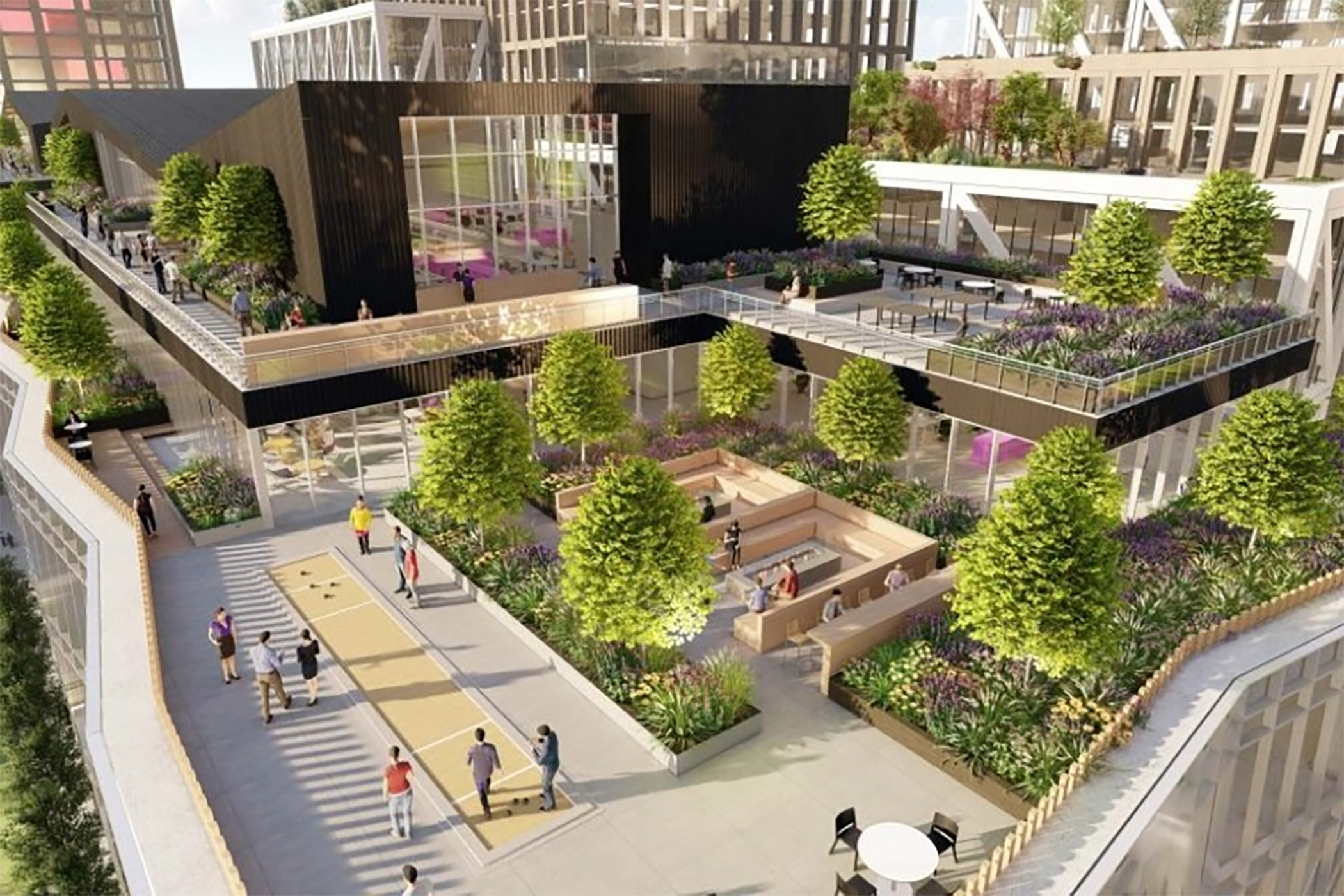 Kilroy Realty's Flower Mart project is one of three the San Francisco Planning Commission approved this year. (CoStar)