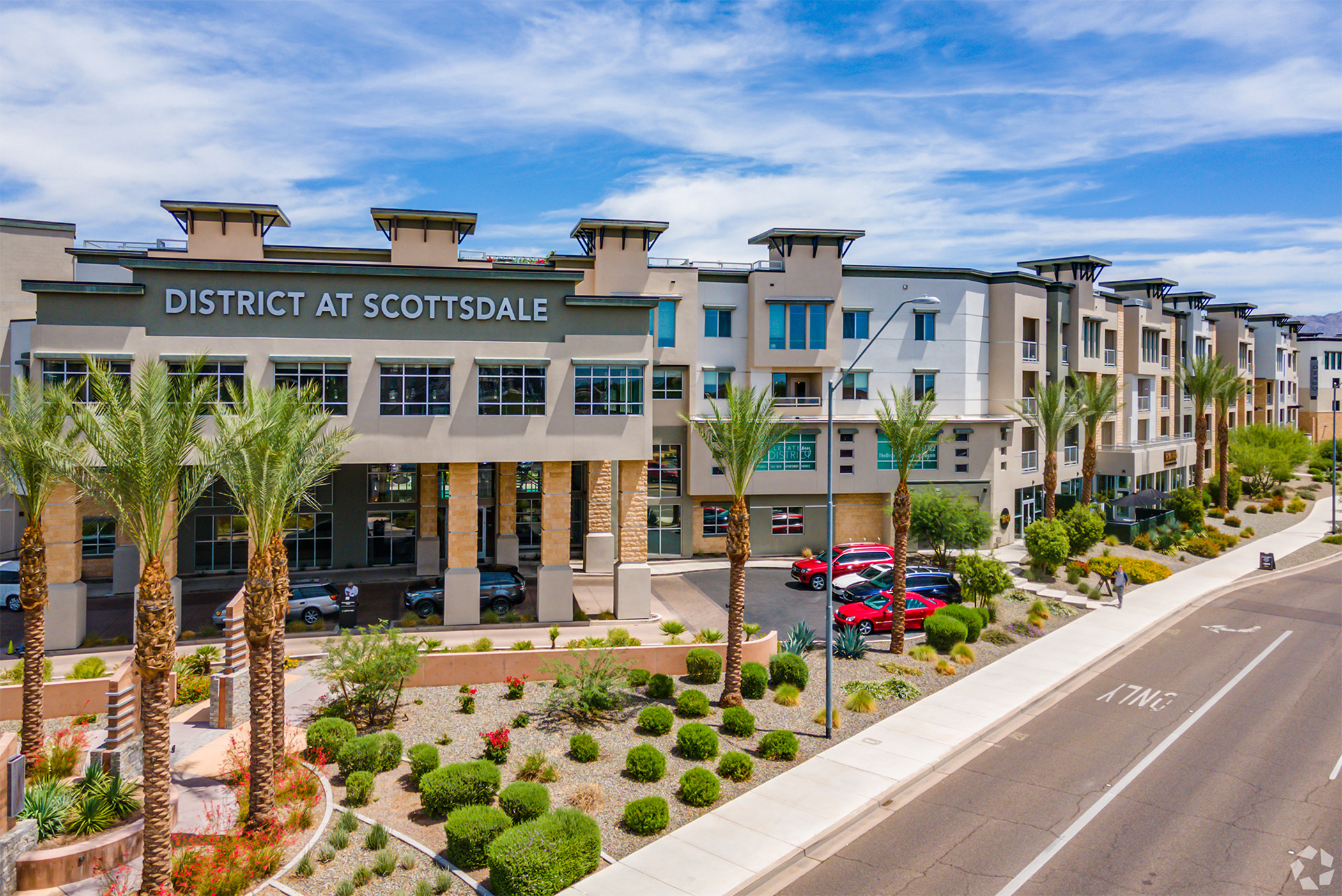 The District at Scottsdale was built in 2019. (CoStar)