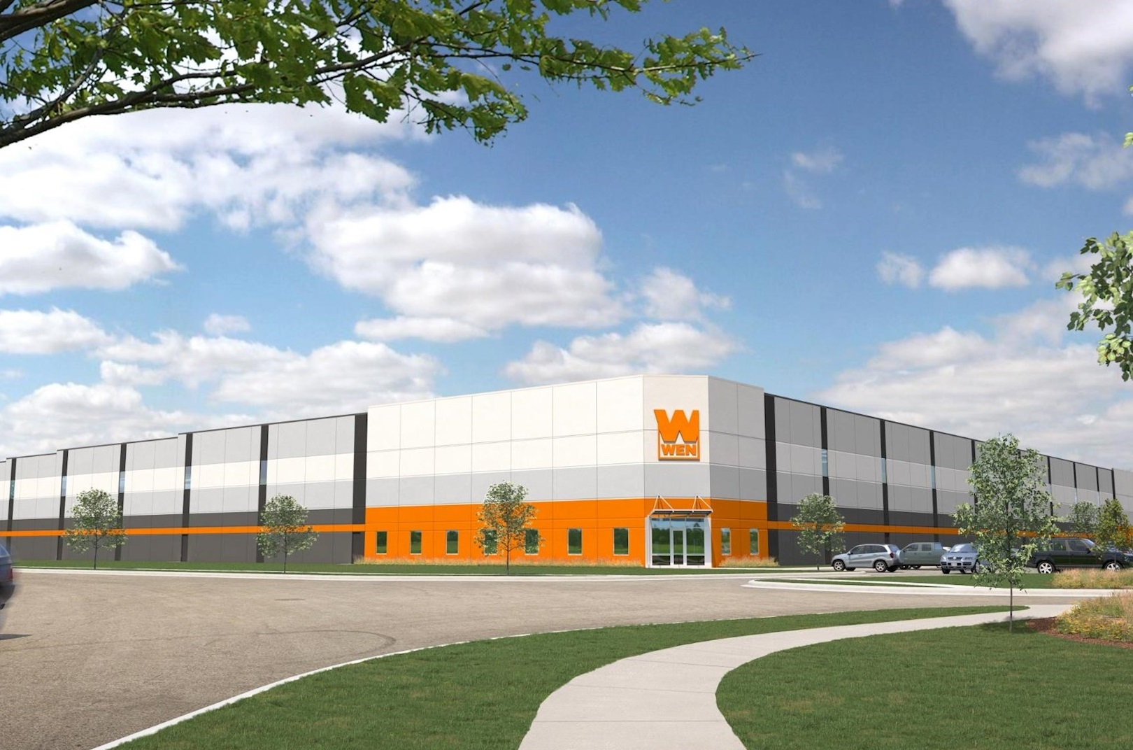 WEN's new facility is expected to open in West Dundee in March 2021. (The Opus Group)