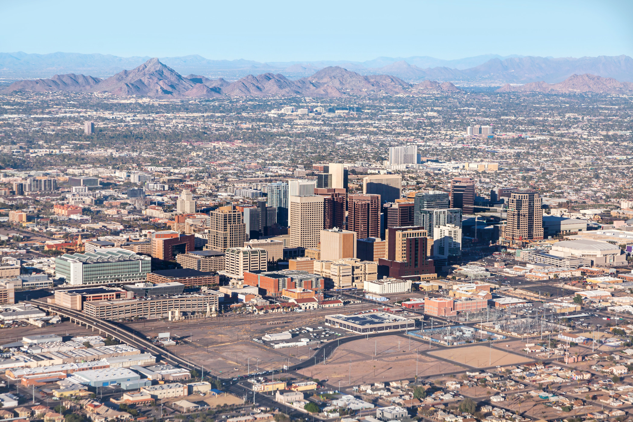Phoenix, including its outer suburbs such as Goodyear, is a strong market for industrial investments as it offers easy connectivity to California and Nevada. (Getty Images)<br/>