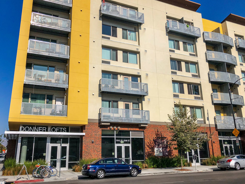 Donner Lofts in San Jose, California, an affordable housing project developed by MidPen Housing, has a waiting list for tenants to lease a unit. Photo: Will Buckner, Flickr