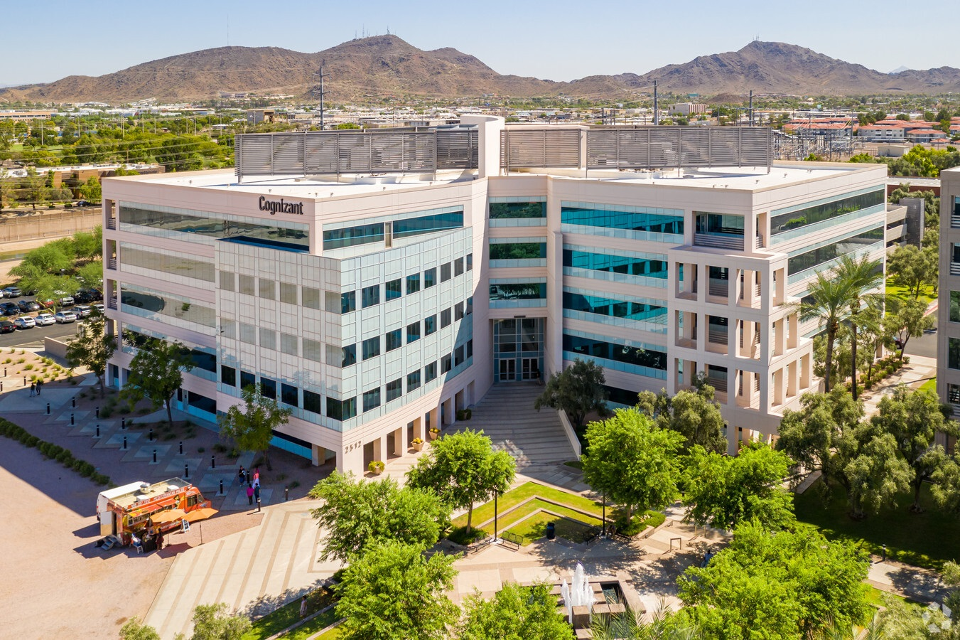 Canyon Corporate Plaza in Phoenix is 66% leased. (CoStar)