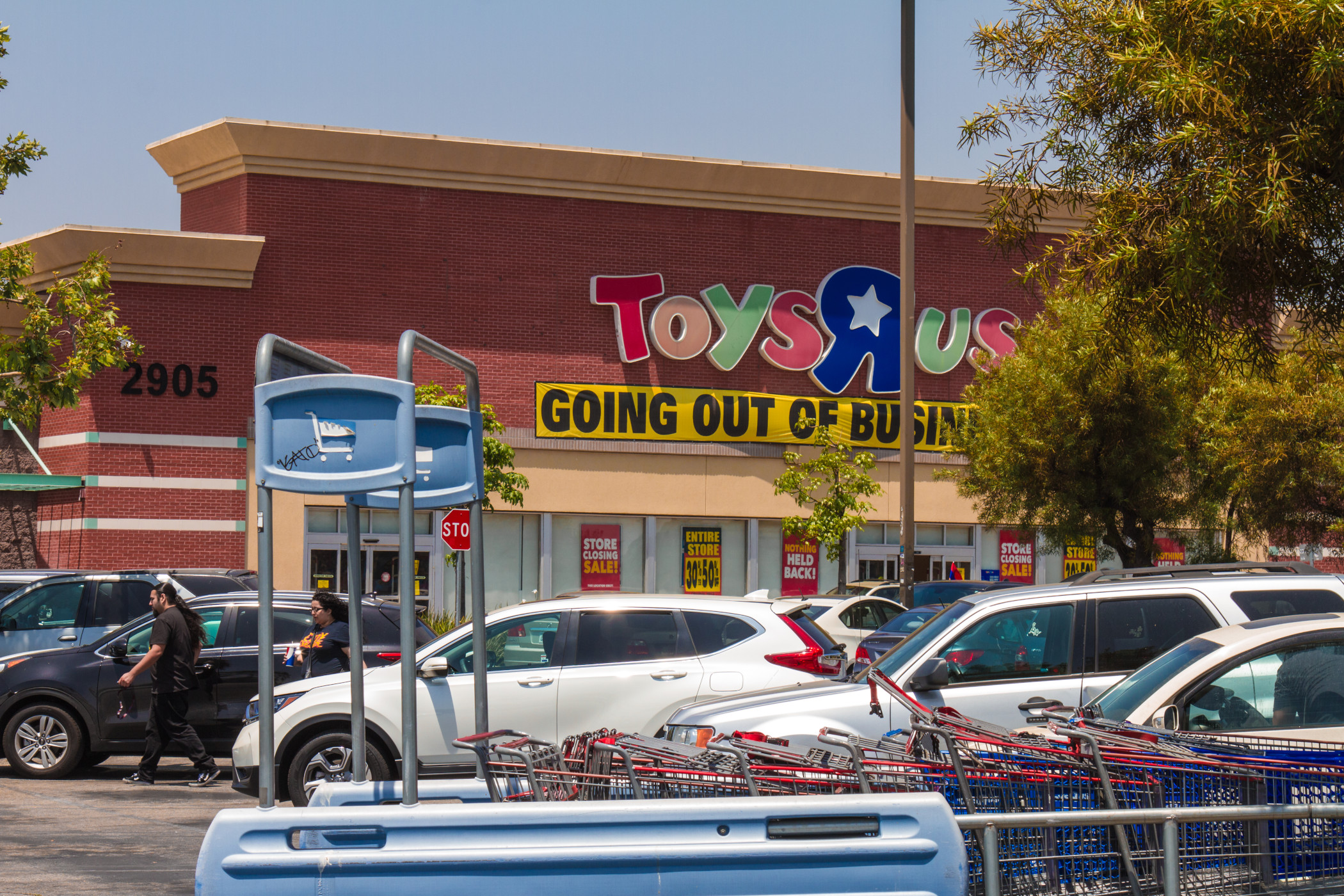 The company that bought the Toys R Us trademarks when the retailer was liquidating now has new controlling investors. (Getty Images)