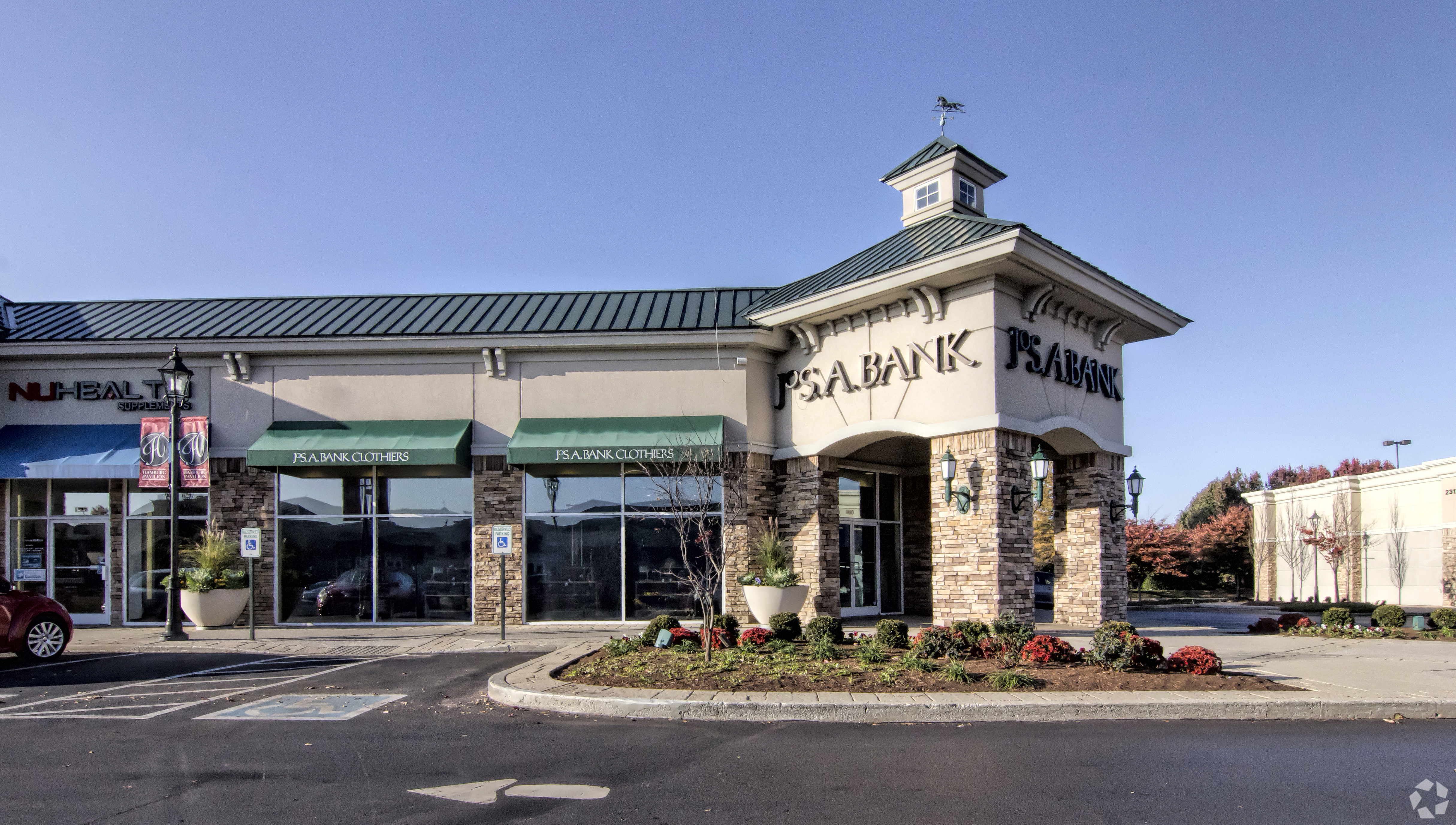A Jos. A. Bank at 2300 Sir Barton way in Lexington, Kentucky, where the retailer's parent company is asking the court to reject its lease as part of the Chapter 11 bankruptcy protection process. (CoStar)