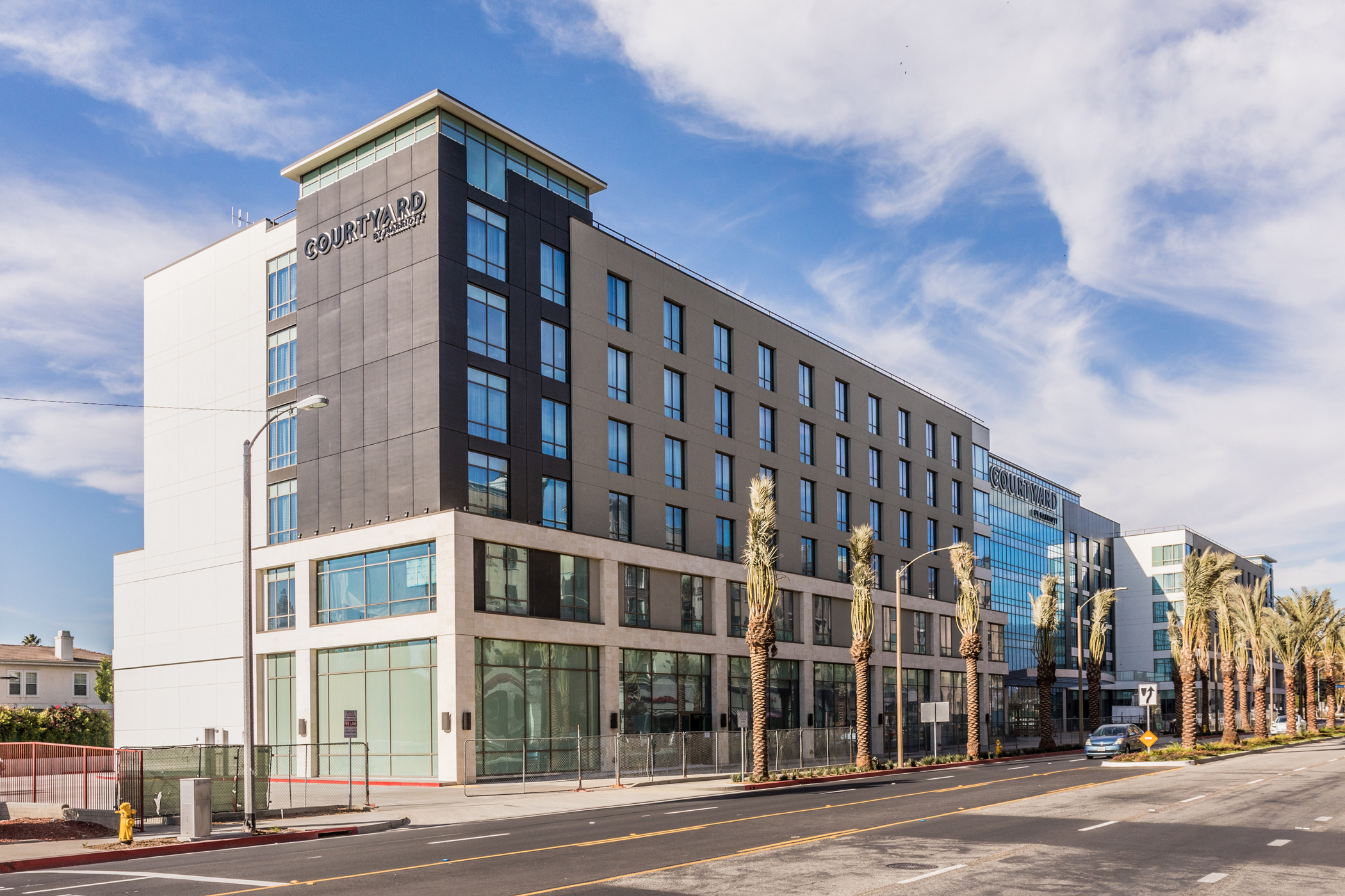 The 288-room Courtyard by Marriott Monterey Park was the largest new hotel to open in Los Angeles County during the first half of the year. (CoStar)
