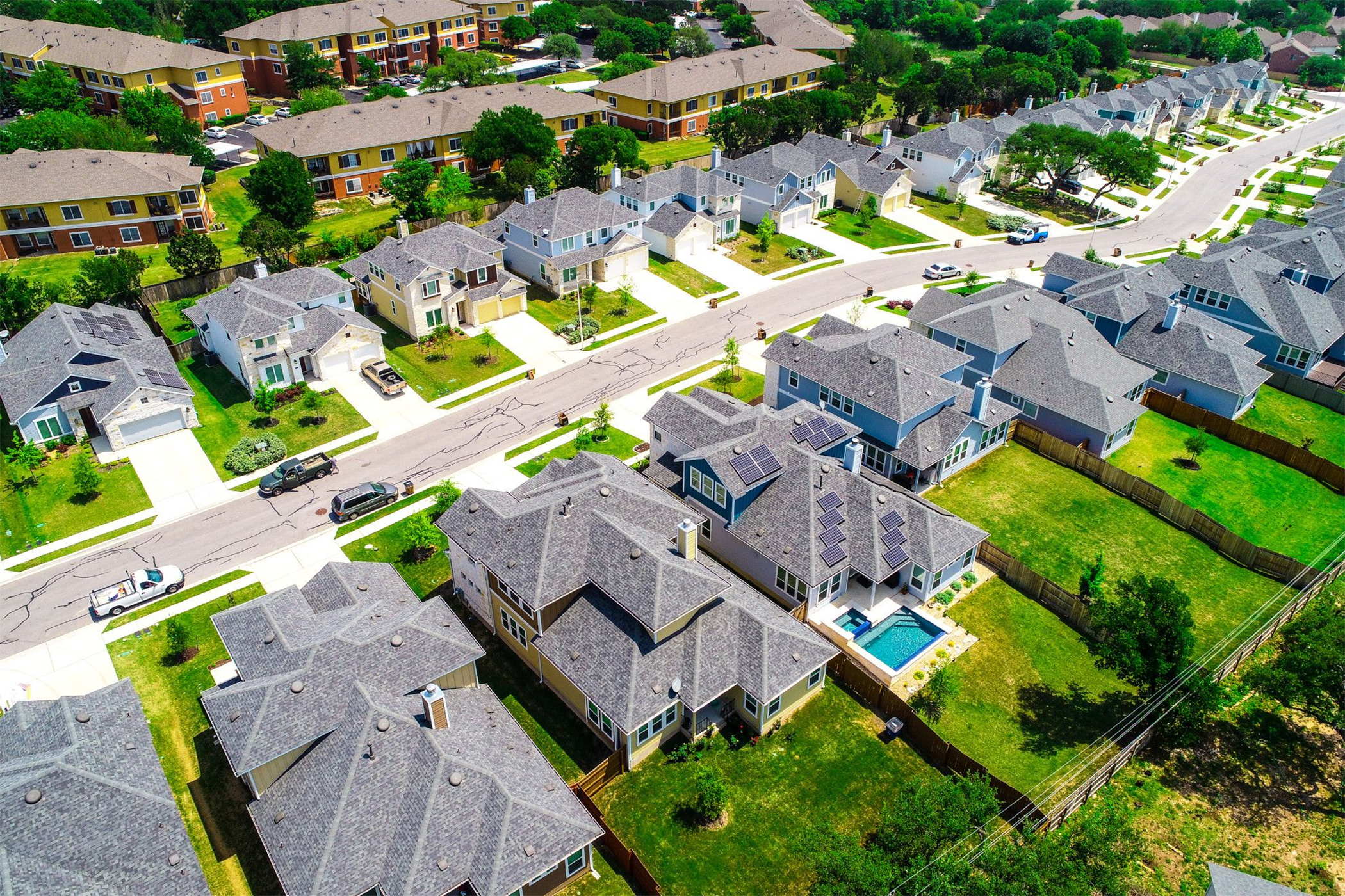In recent years, single-family rental homes have emerged as an attractive housing option for tenants. (Getty Images)