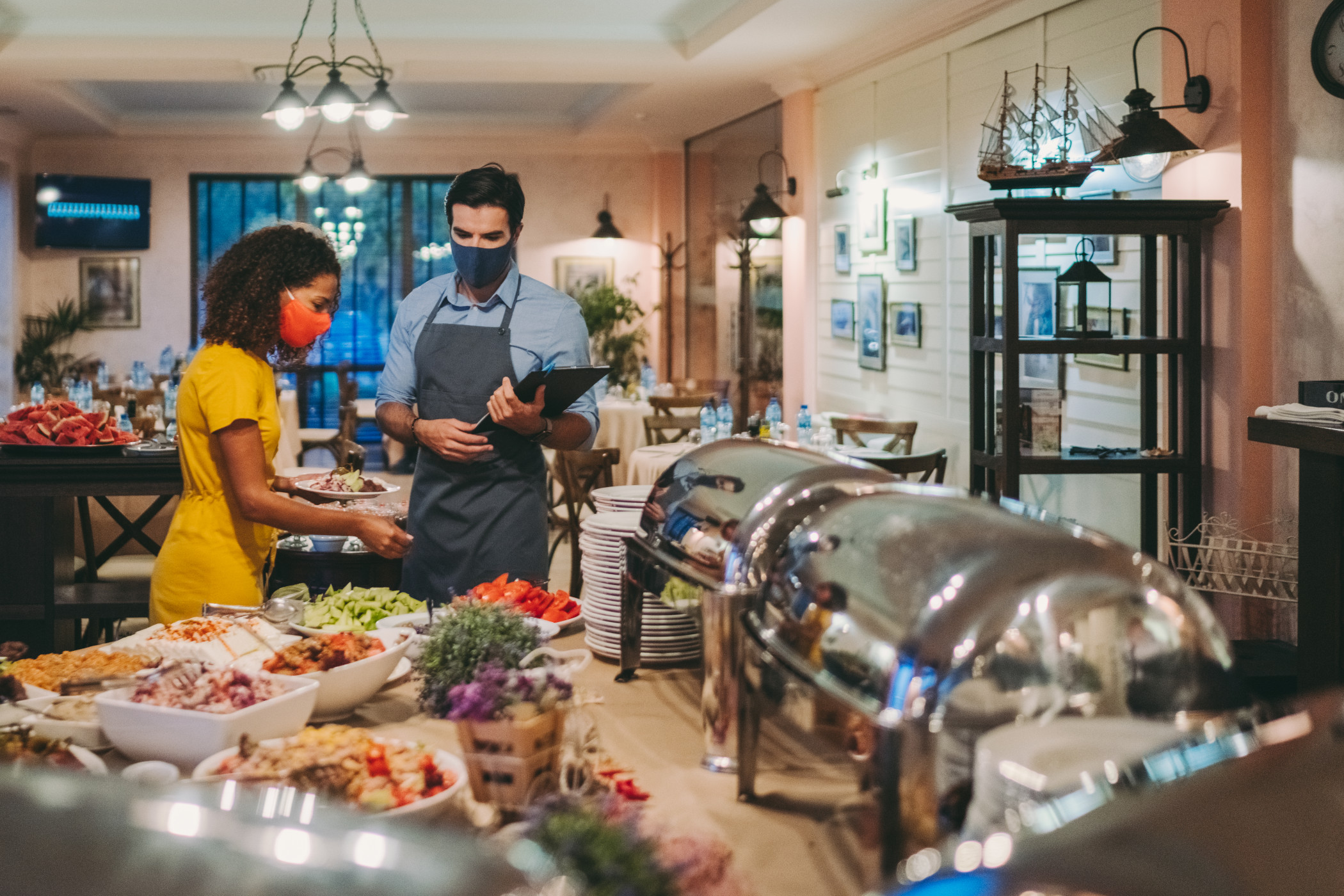 Questions arise whether hotels with restaurants should have been eligible for money from the Restaurant Relief Fund. (Getty Images)
