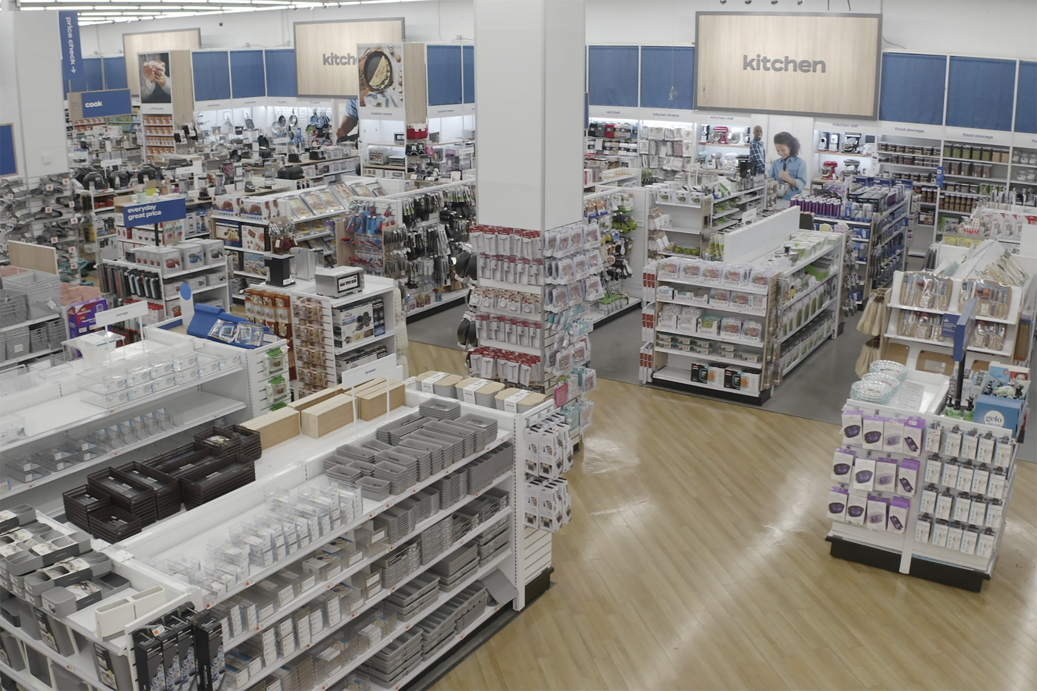 Bed Bath & Beyond has remodeled 10 stores in the Houston area and will begin rolling out the new design in other locations across the nation. (Bed Bath & Beyond)