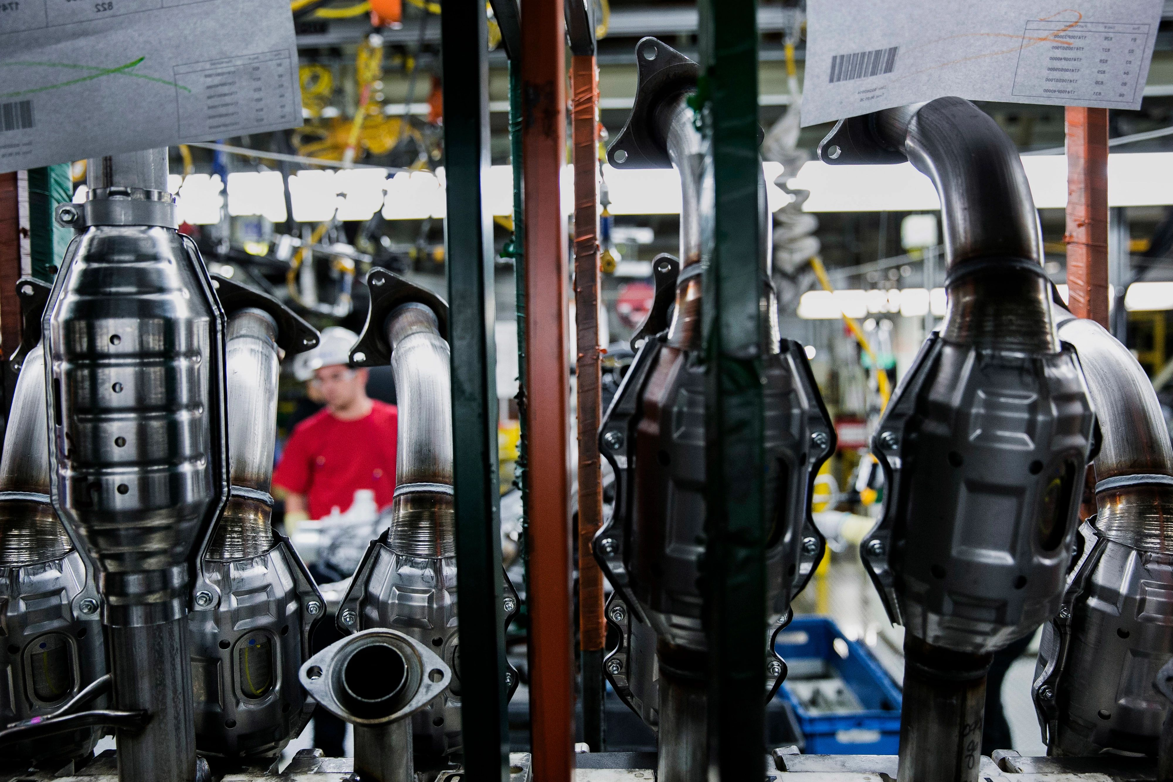 Factory activity increased in September for the second consecutive month. (Getty Images)