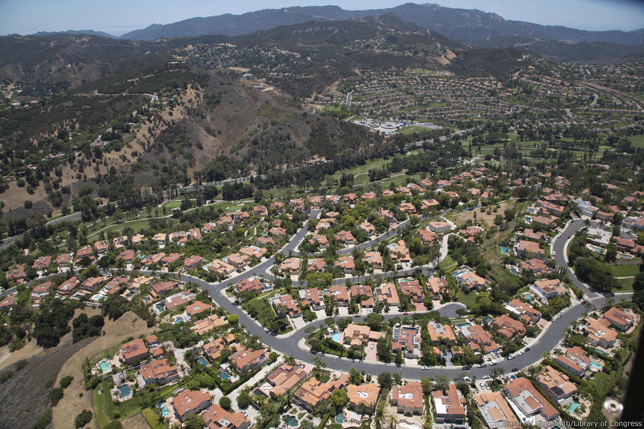 Homebuilding has trailed population growth in all U.S. cities including Los Angeles. (Carol M. Highsmith/Department of State)
