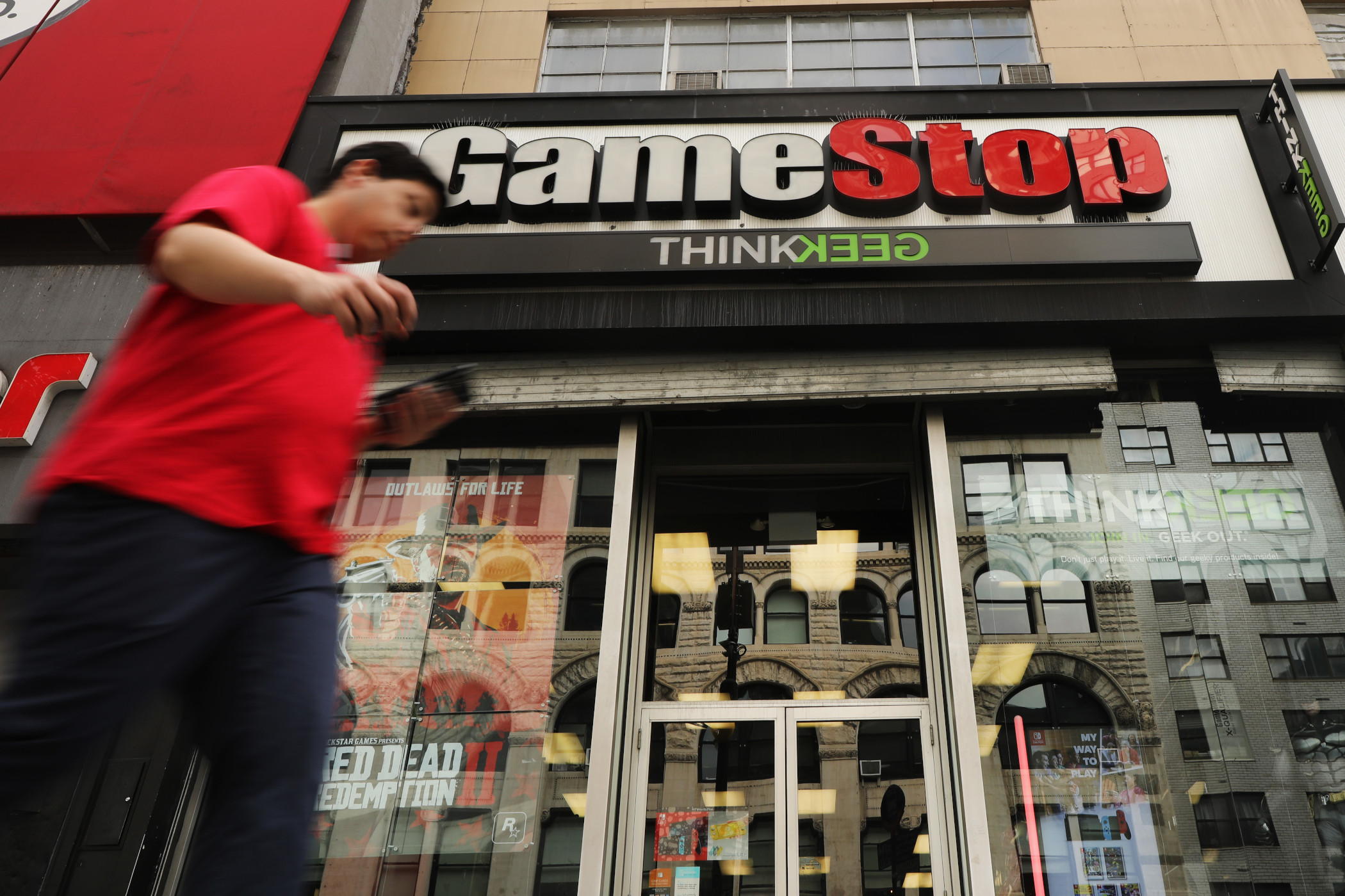 GameStop has about 5,100 stores across 10 countries, according to the company's latest quarterly report. (Getty Images)