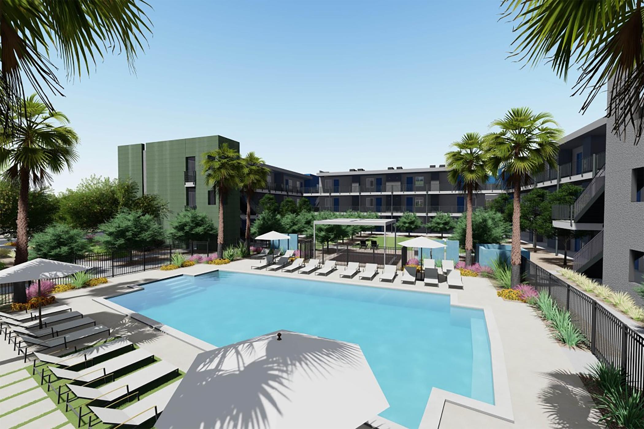 A Scottsdale, Arizona, developer is building Cabana Encanto. (Greenlight Communities)