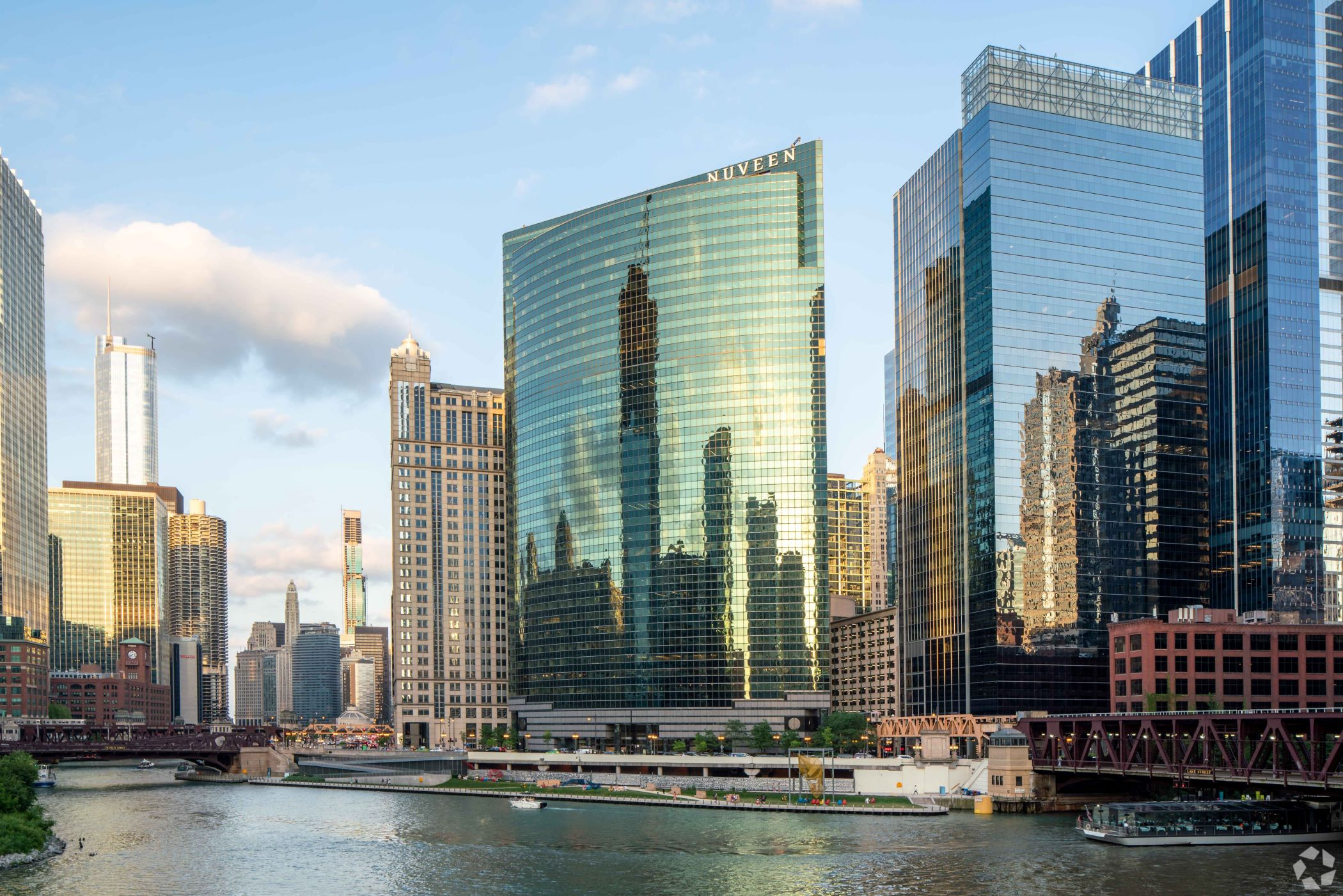 ?Vacancy rates will go up more over the next 12 months,? Savills? John Goodman said of the downtown Chicago office market. (CoStar)