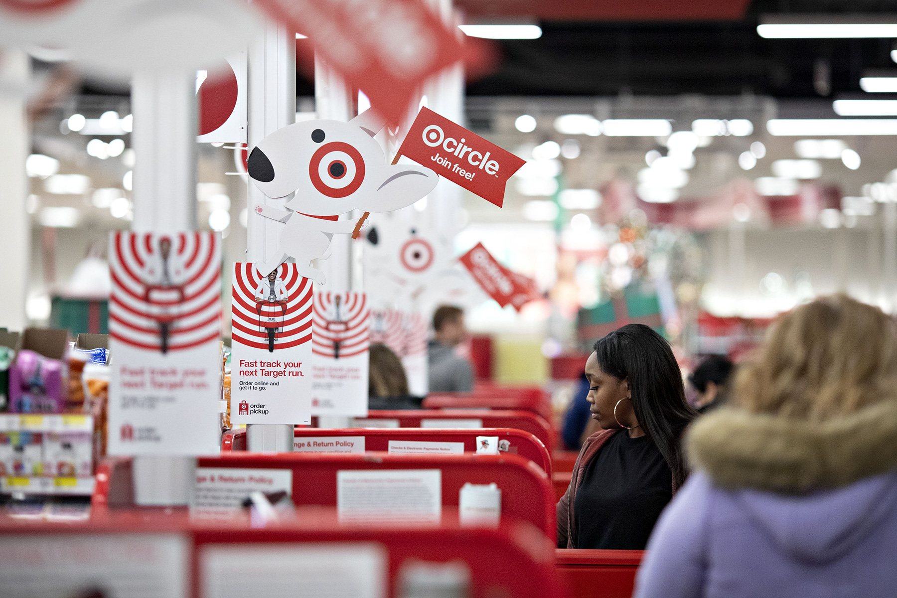 Target reported strong quarterly results as consumers spent on its products. (Getty Images)