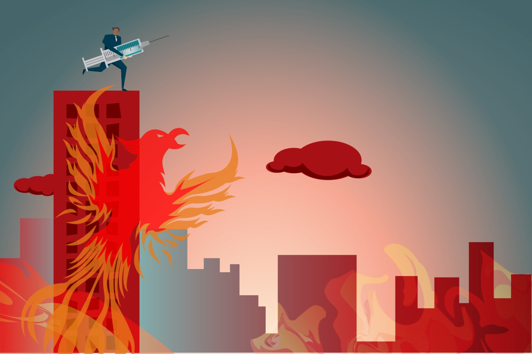 Dealing With the Pandemic?s Fire Before the Phoenix Rises